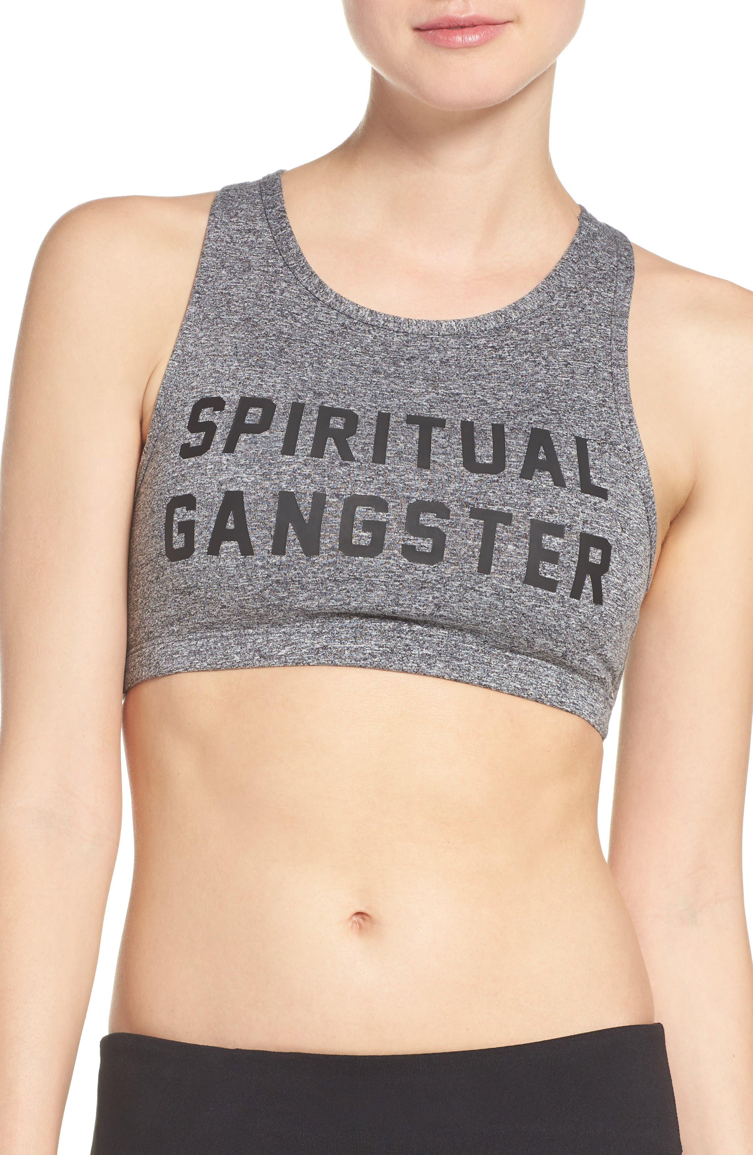 Spiritual Gangster Collegiate Sports Bra