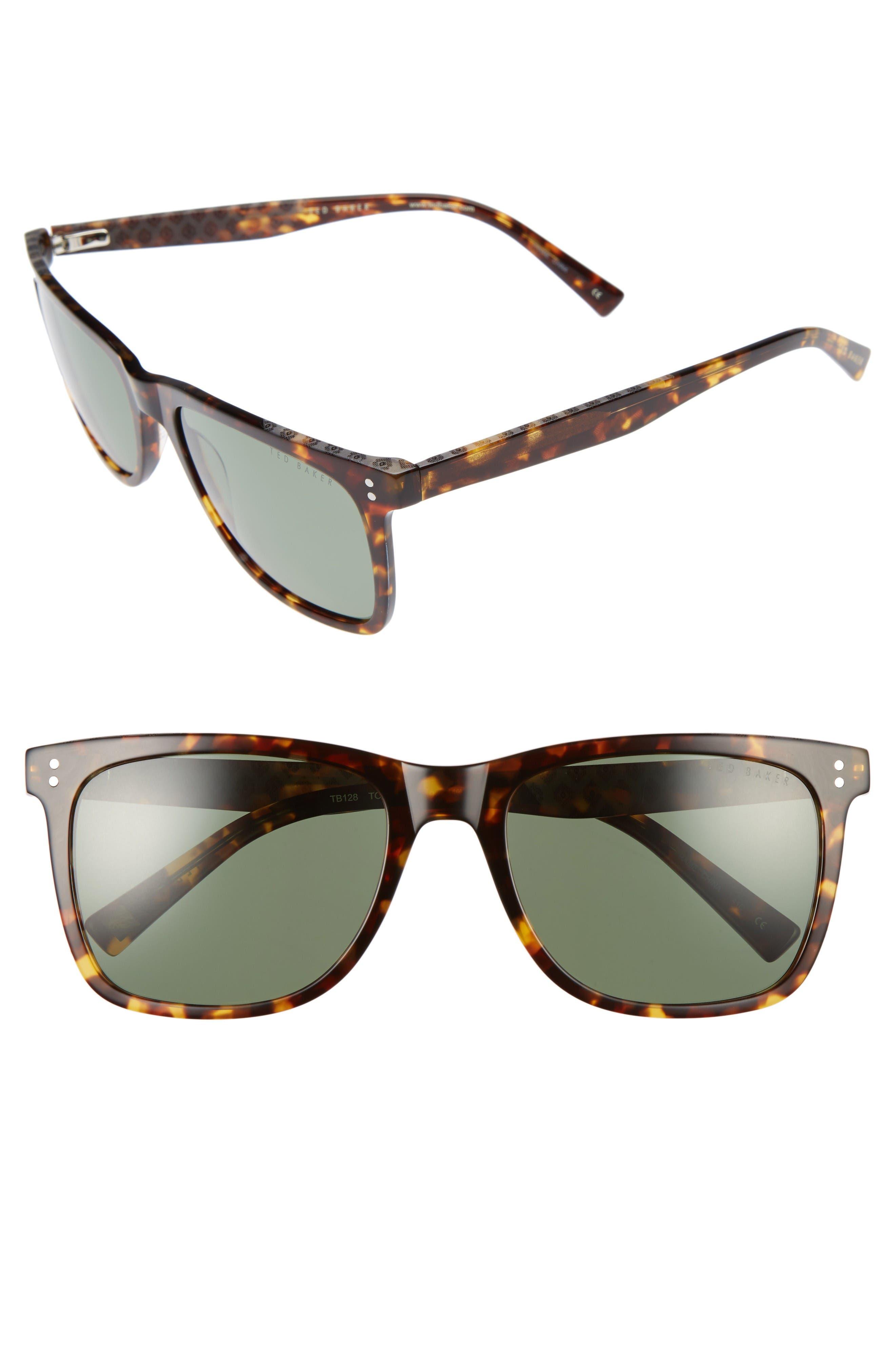 Ted Baker London 56mm Polarized Sunglasses