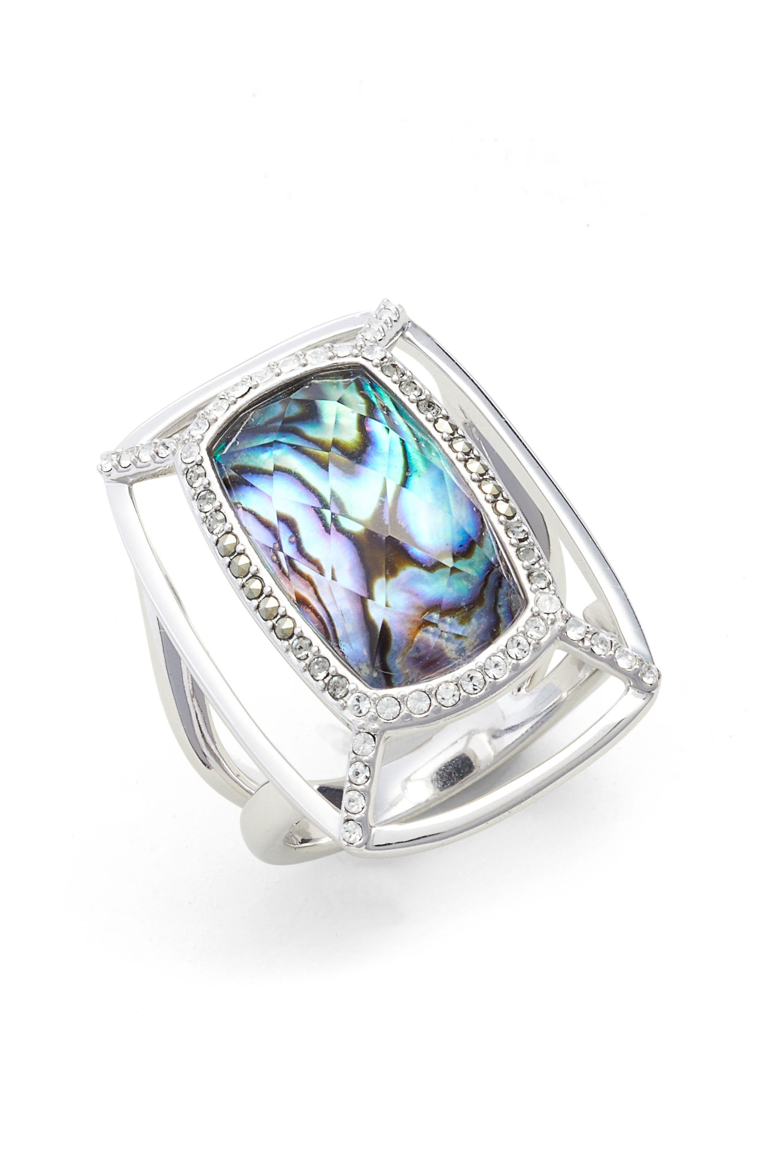 Judith Jack Abalone Dome Ring