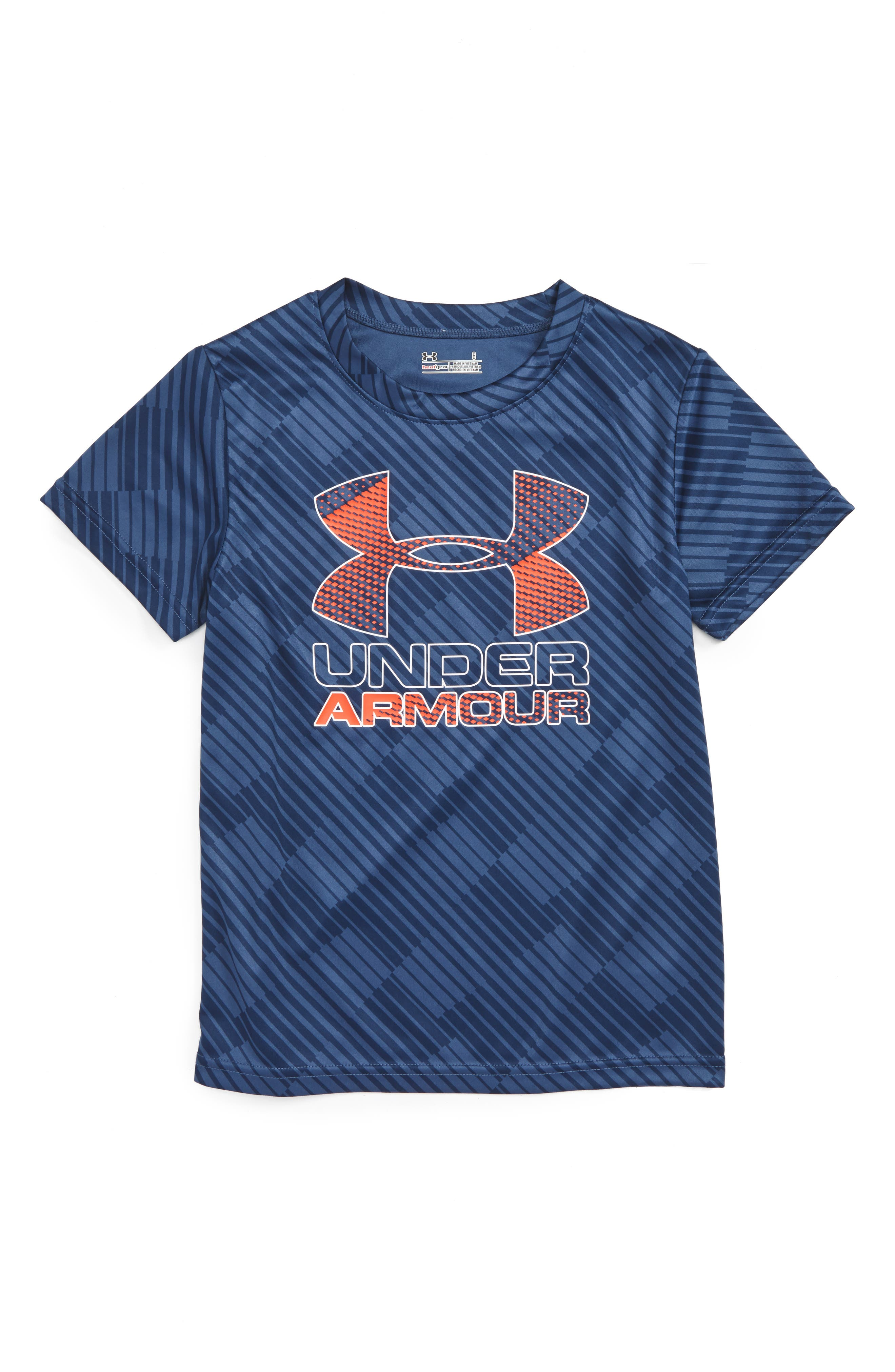 Under Armour Tilt Shift Graphic HeatGear® T-Shirt (Toddler Boys & Little Boys)
