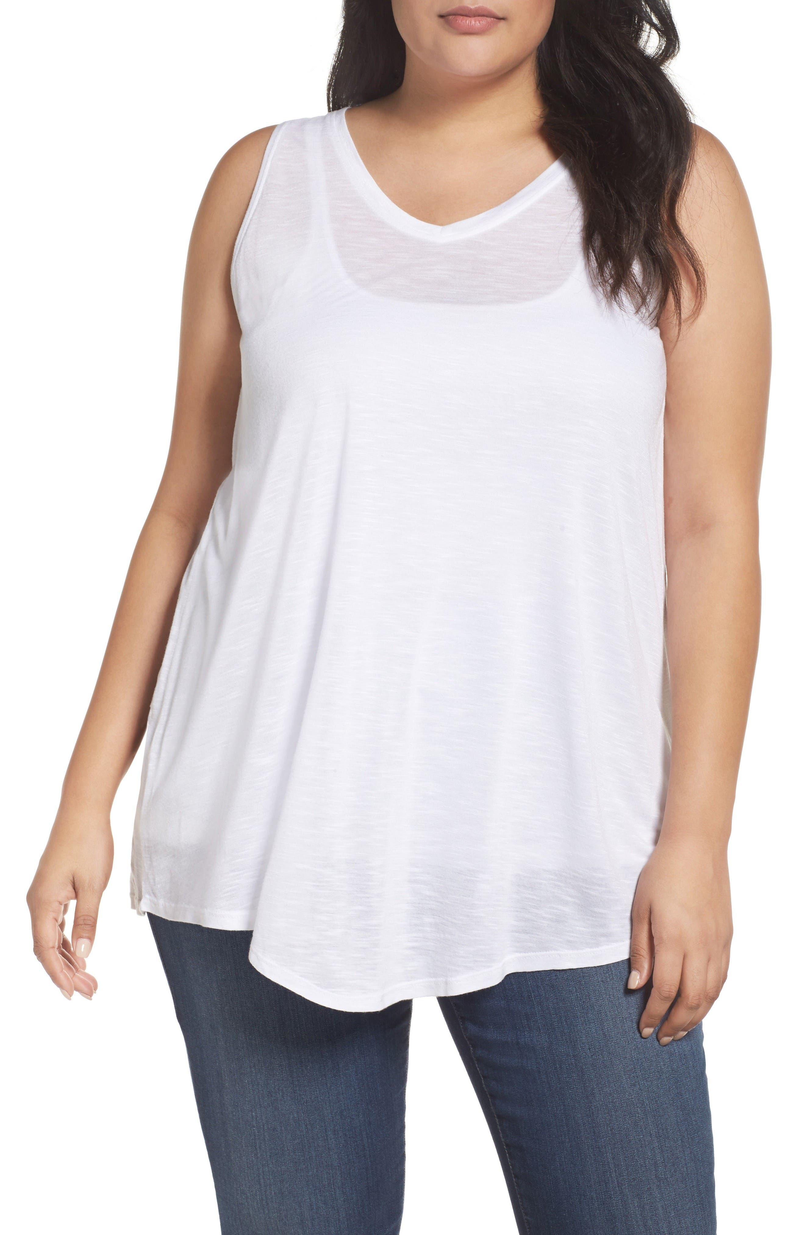 SEJOUR Triangle Knit Tank