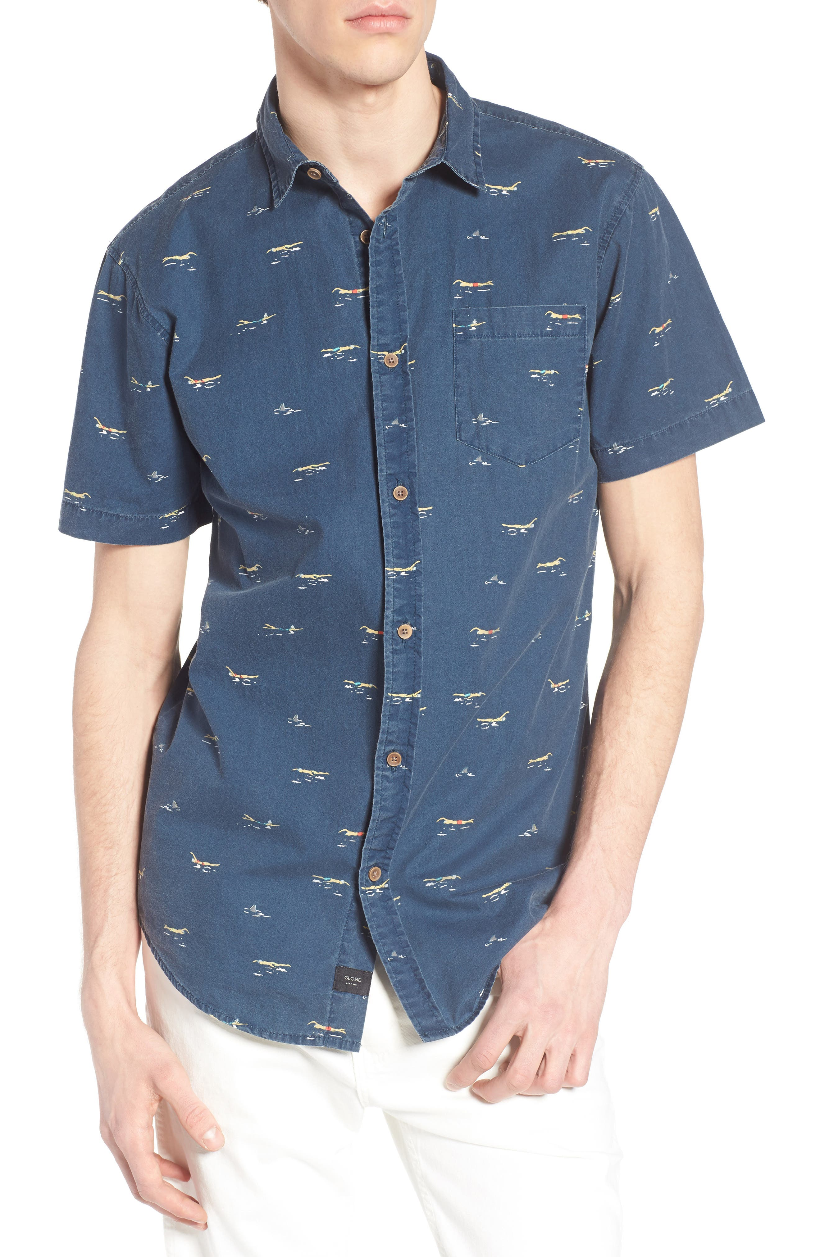 Globe Freestyle Print Shirt