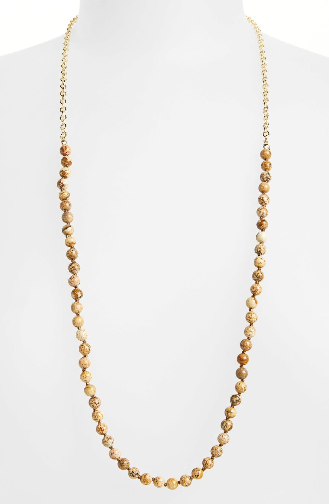 nordstrom semiprecious beaded necklace nordstrom