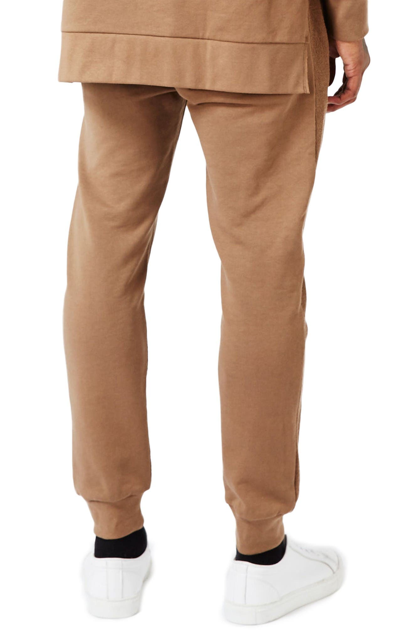 Alternate Image 3  - Topman AAA Collection Paneled Slim Fit Jogger Pants