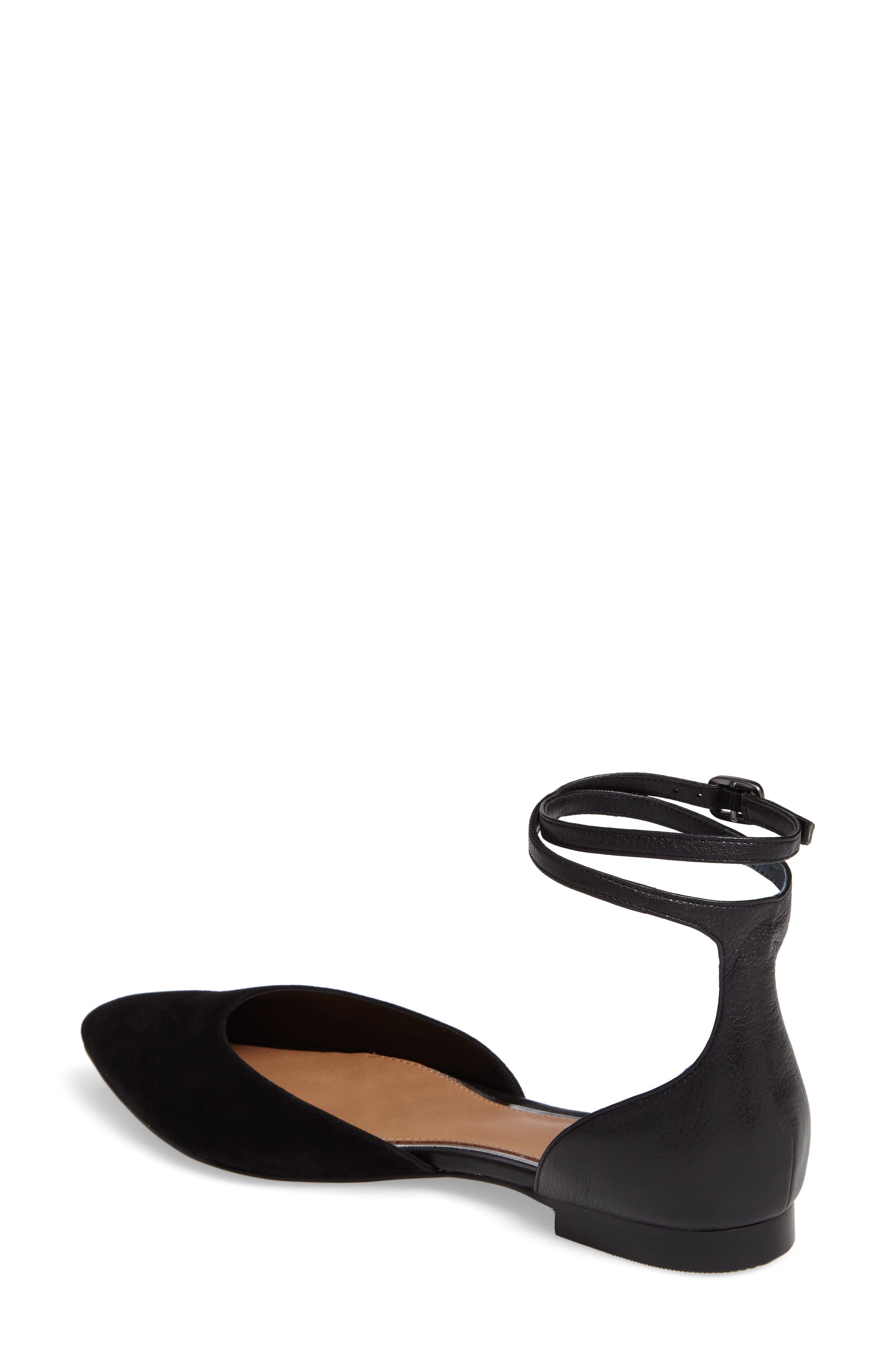 Alternate Image 2  - Linea Paolo Dario Ankle Strap Flat (Women)