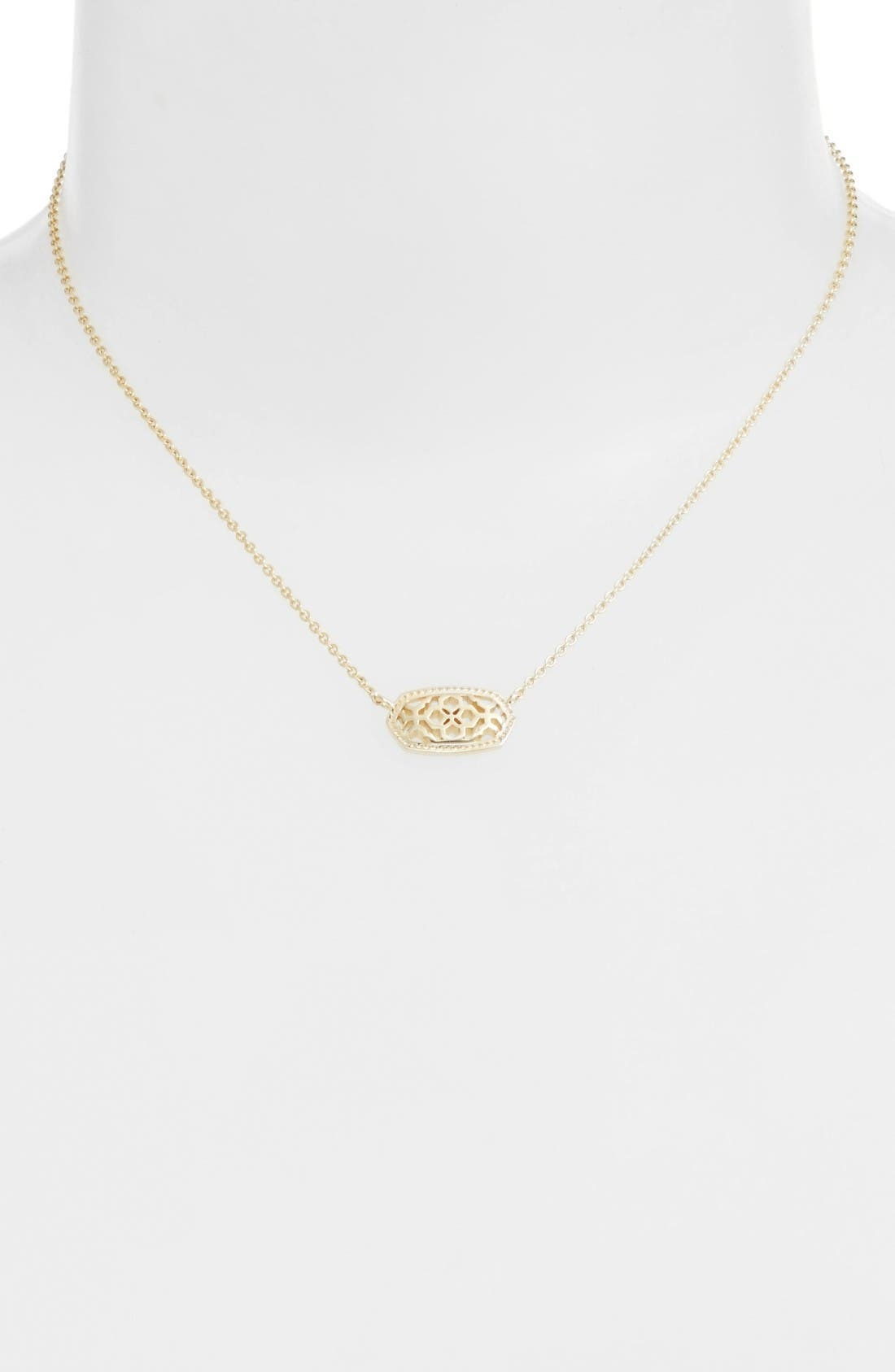 Alternate Image 3  - Kendra Scott Elisa Filigree Pendant Necklace