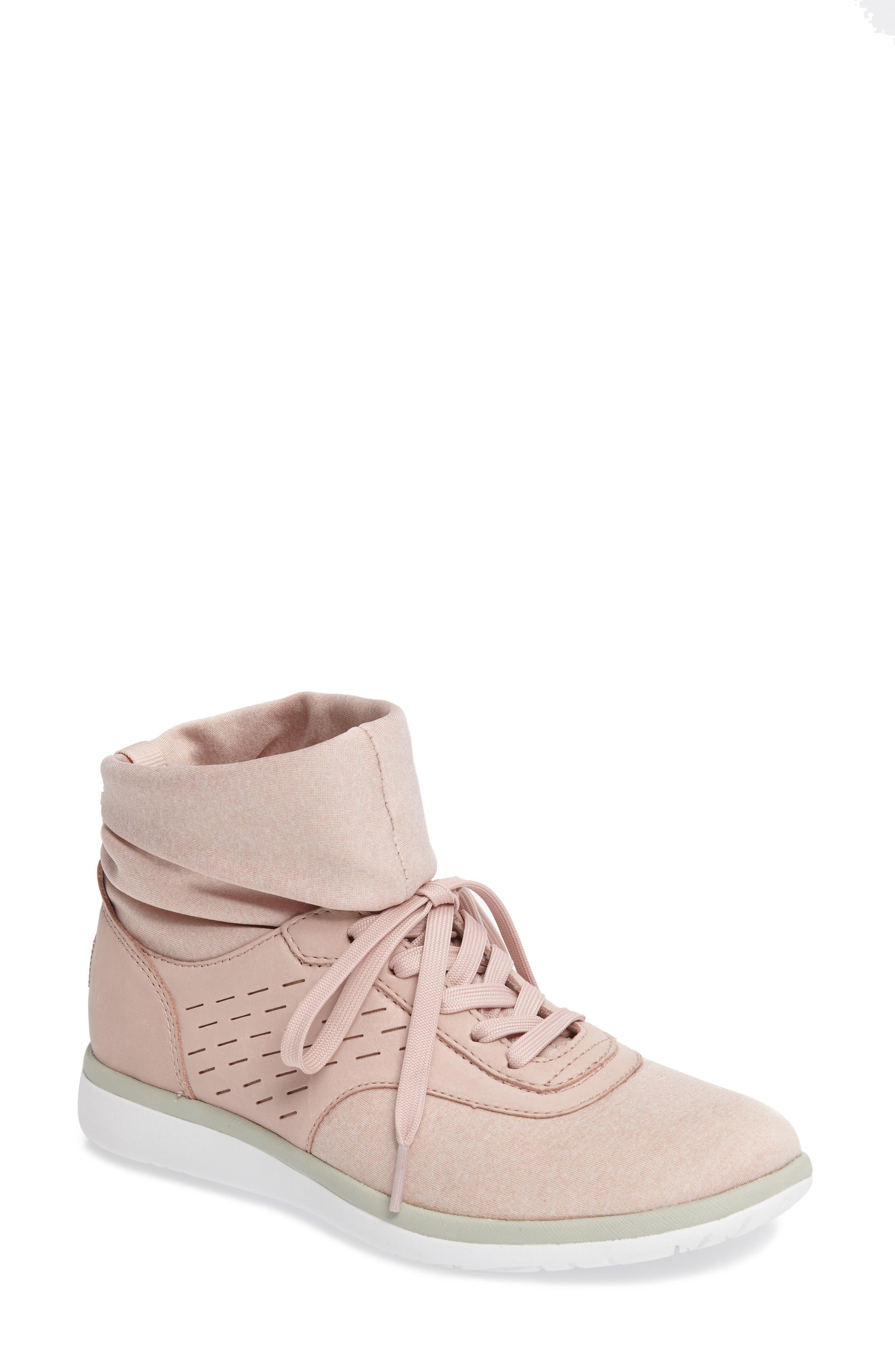 Alternate Image 1 Selected - UGG® Islay High Top Sneaker (Women)