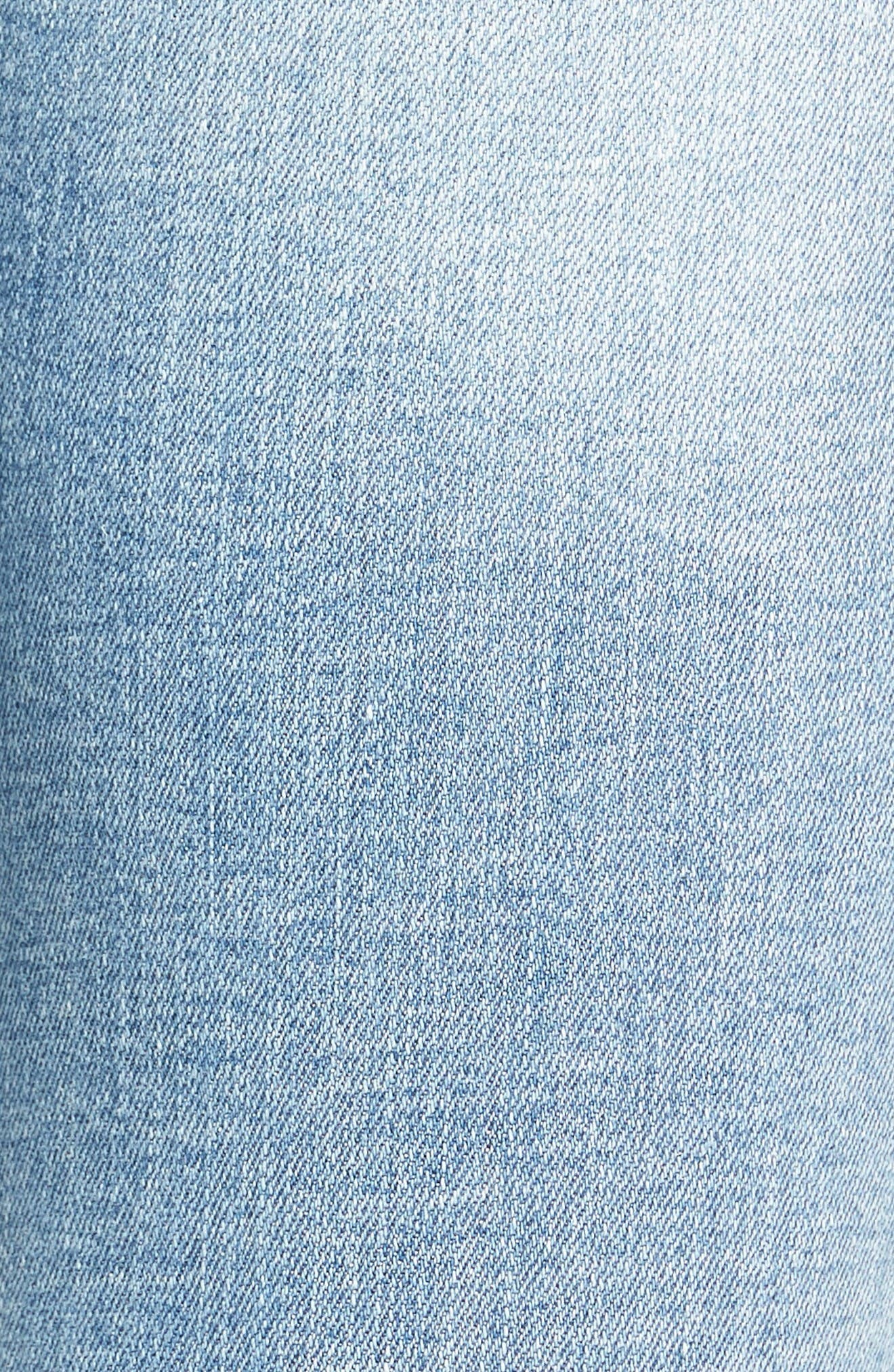 Alternate Image 5  - SP Black Ripped Knee Skinny Jeans