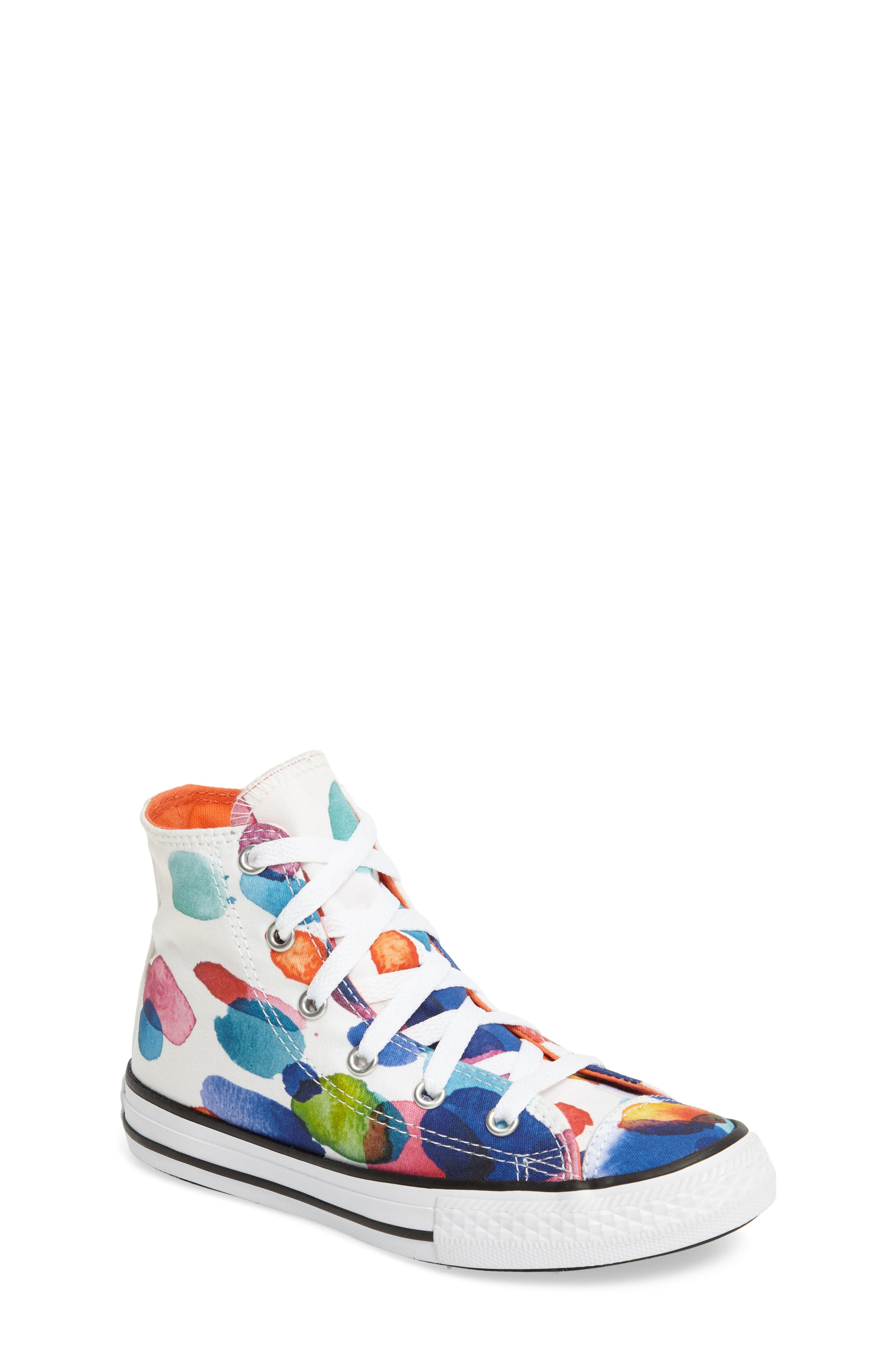 Converse Chuck Taylor® All Star® Floral Petals High Top Sneaker (Toddler, Little Kid & Big Kid)