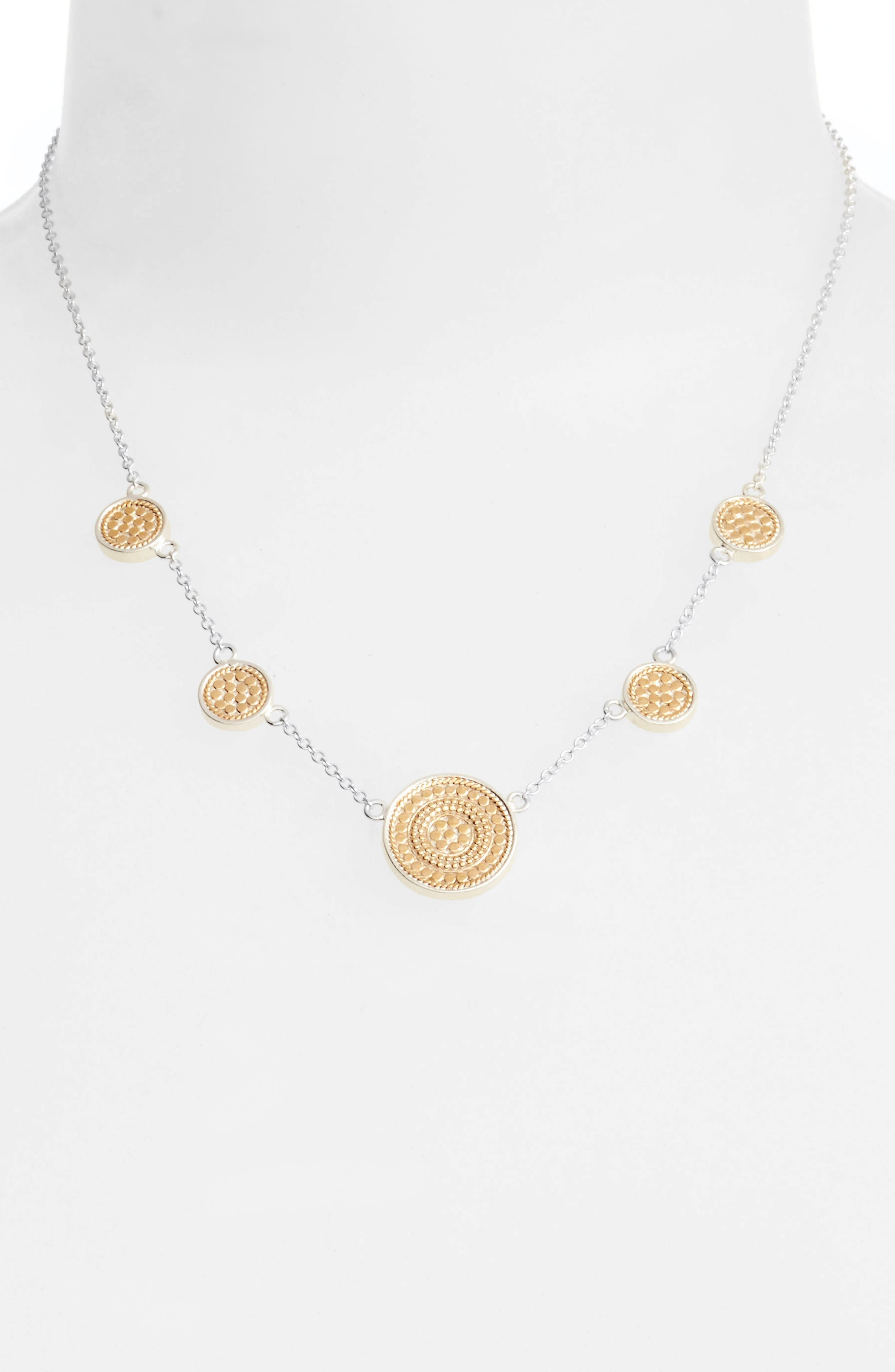 Anna Beck Signature Reversible Station Necklace