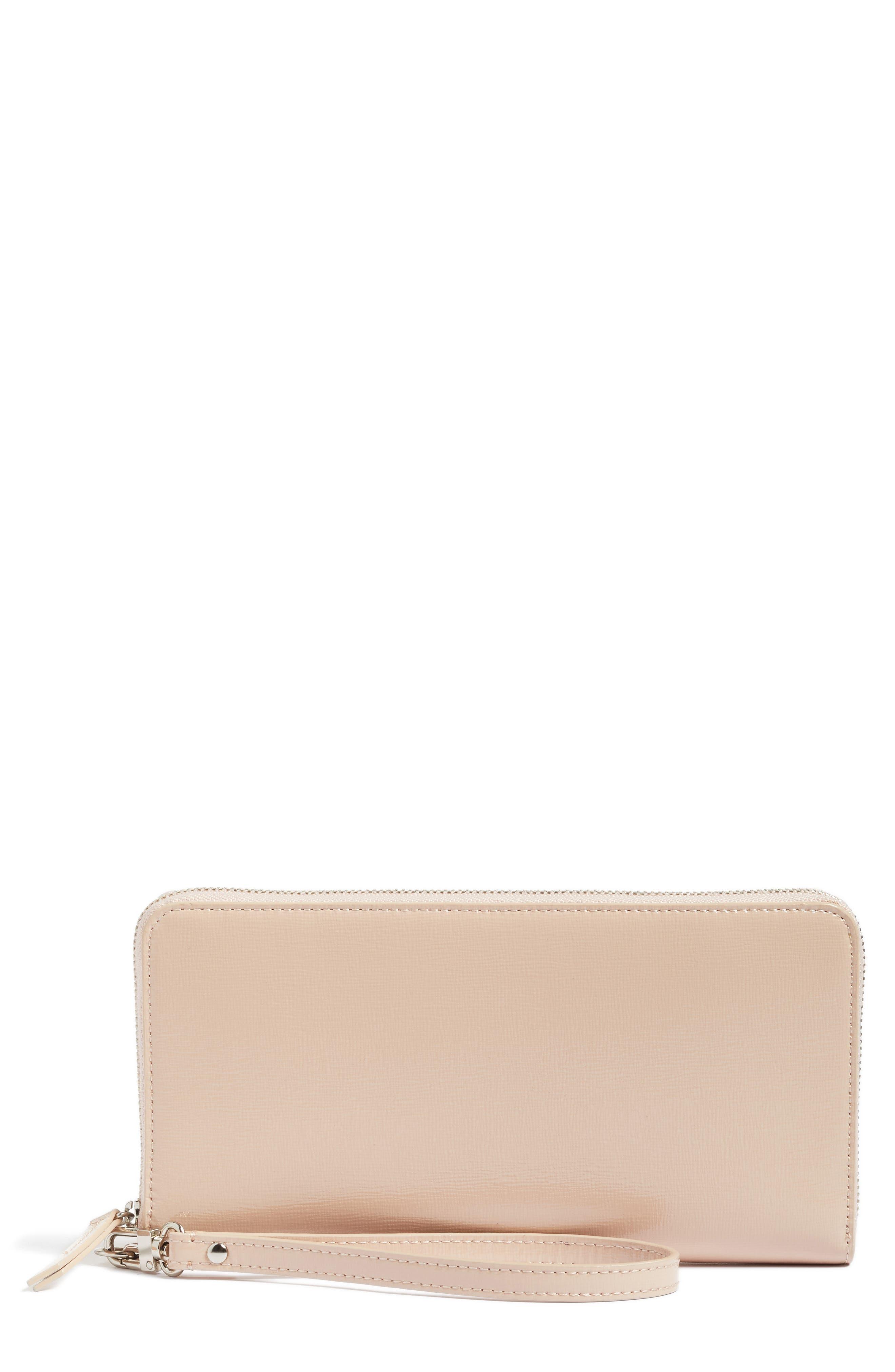 Nordstrom Slim Leather Wallet