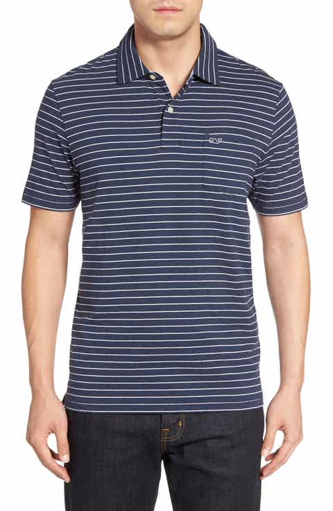 Vineyard Vines Open Feeder Stripe Polo