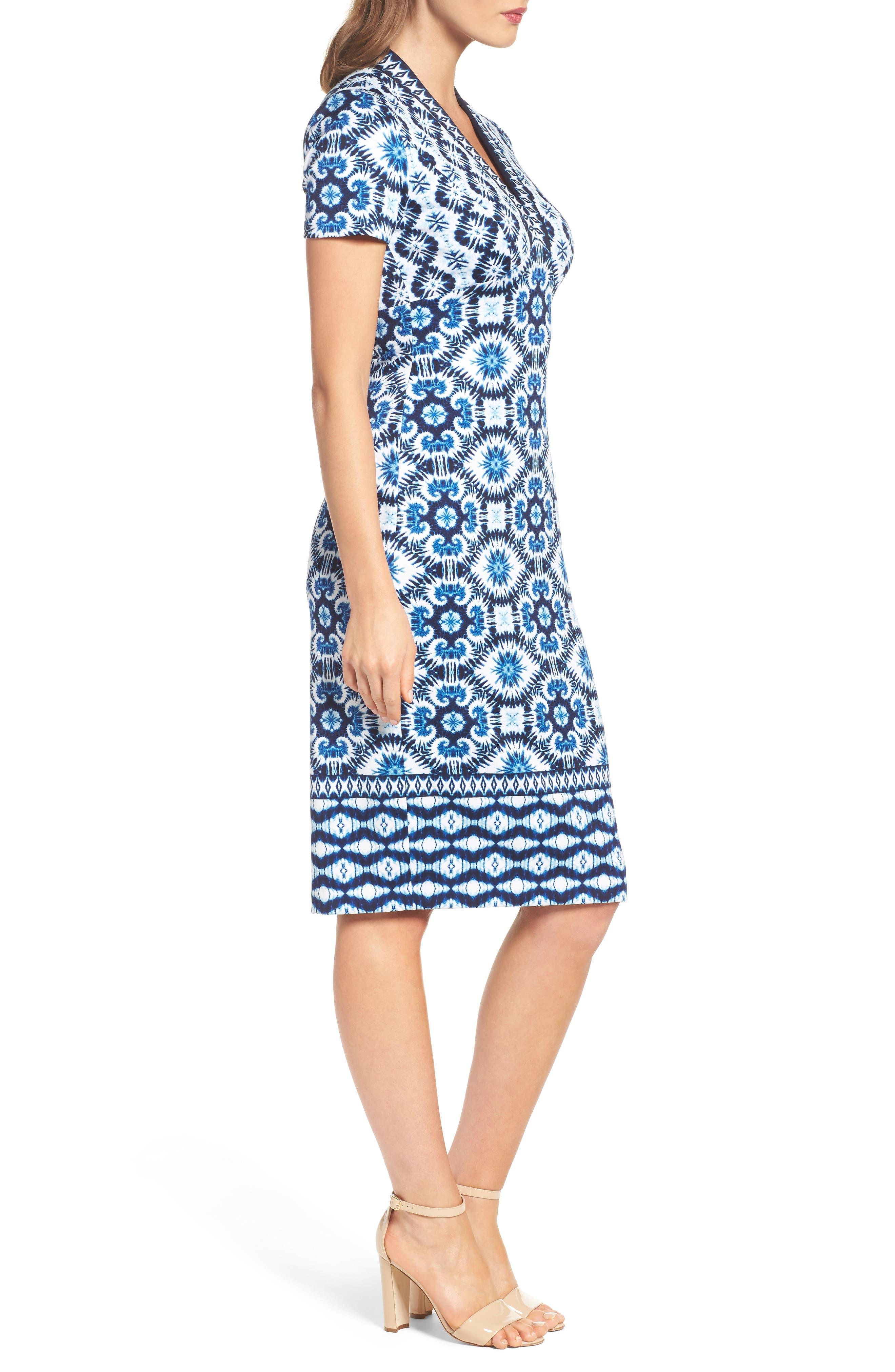 Alternate Image 3  - Maggy London Ikat Sheath Dress