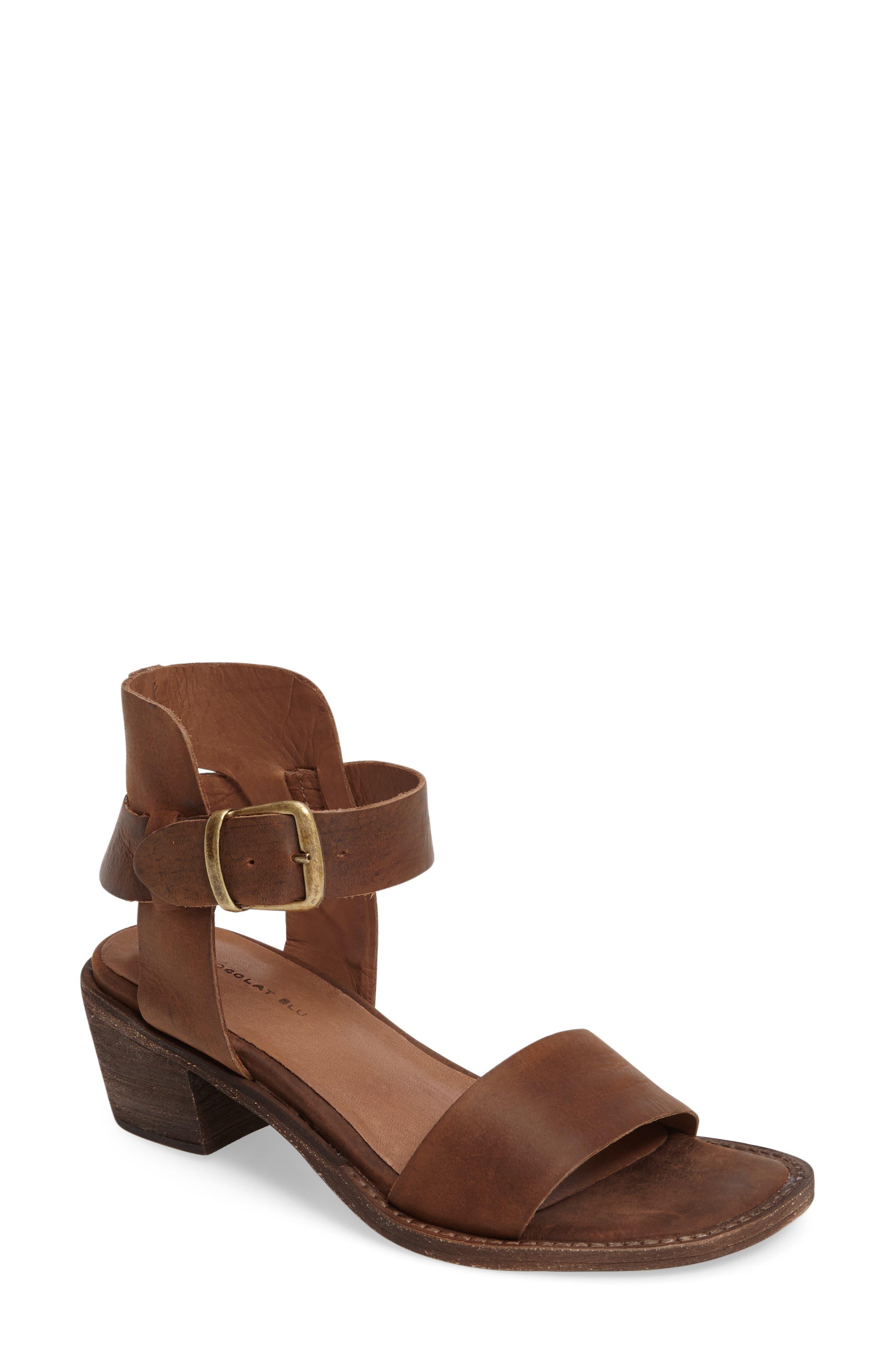 Alternate Image 1 Selected - Chocolat Blu Arcadia Block Heel Sandal (Women)