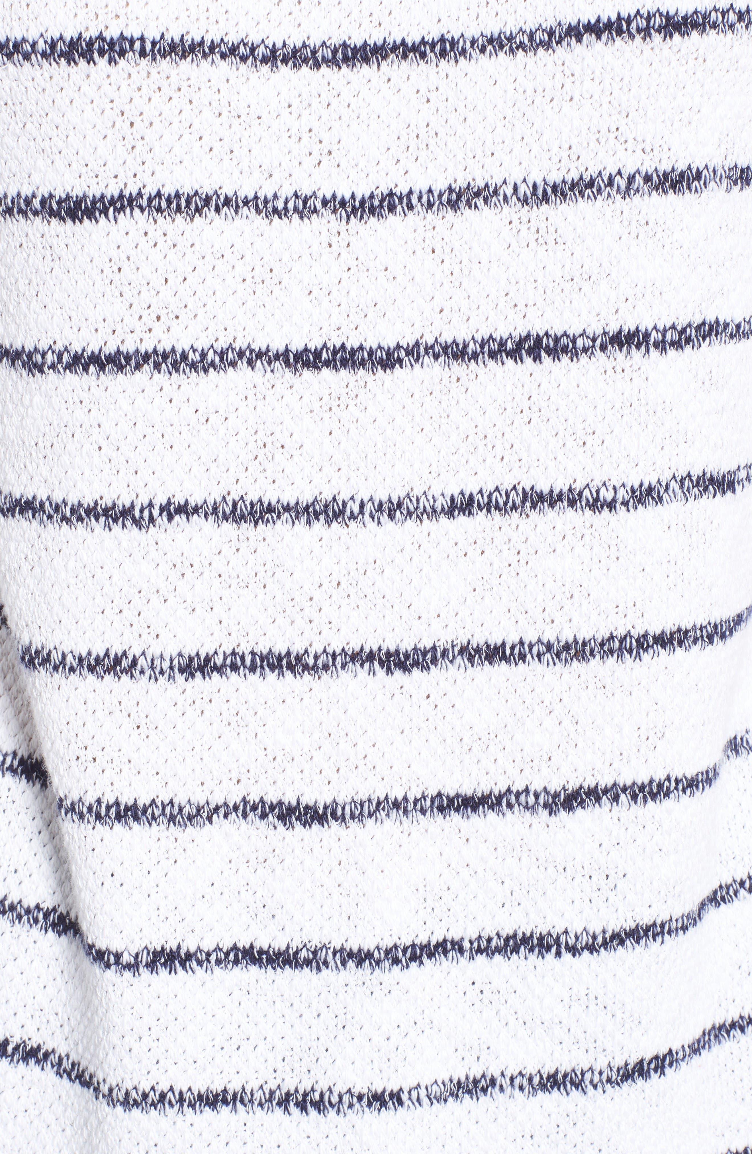 Alternate Image 7  - Caslon® Convertible Off the Shoulder Pullover (Regular & Petite)