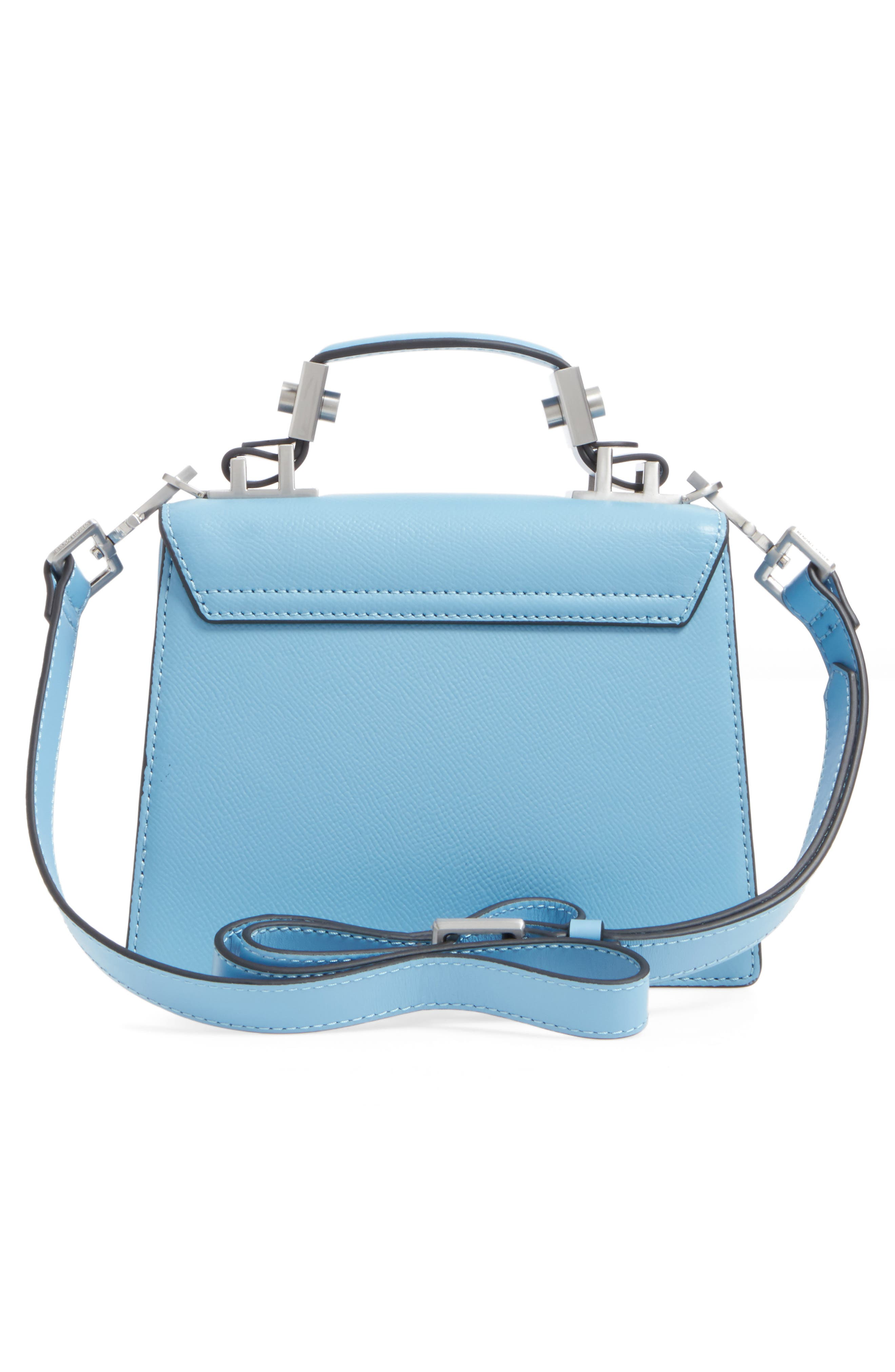 Alternate Image 3  - KENDALL + KYLIE Lips Leather Top Handle Satchel