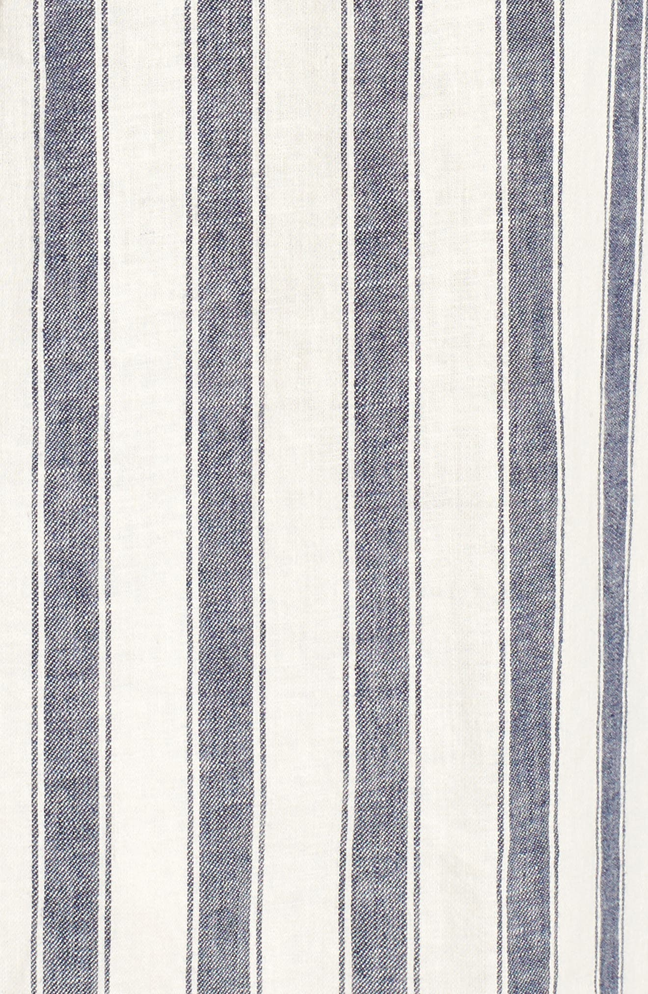 Alternate Image 5  - Madewell Stripe Linen & Cotton Shirtdress