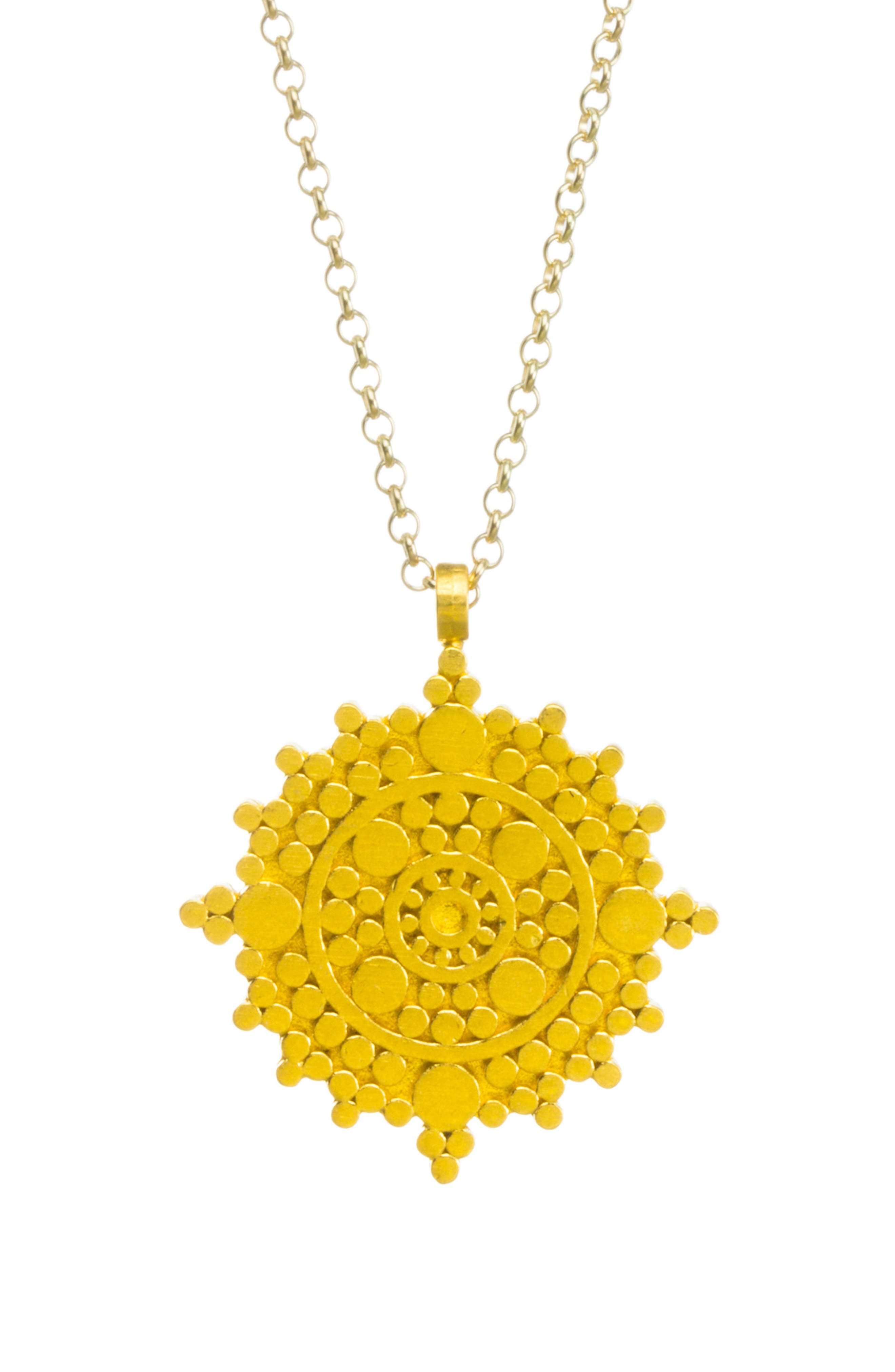 Alternate Image 2  - Dogeared The Balance Mandala Pendant Necklace