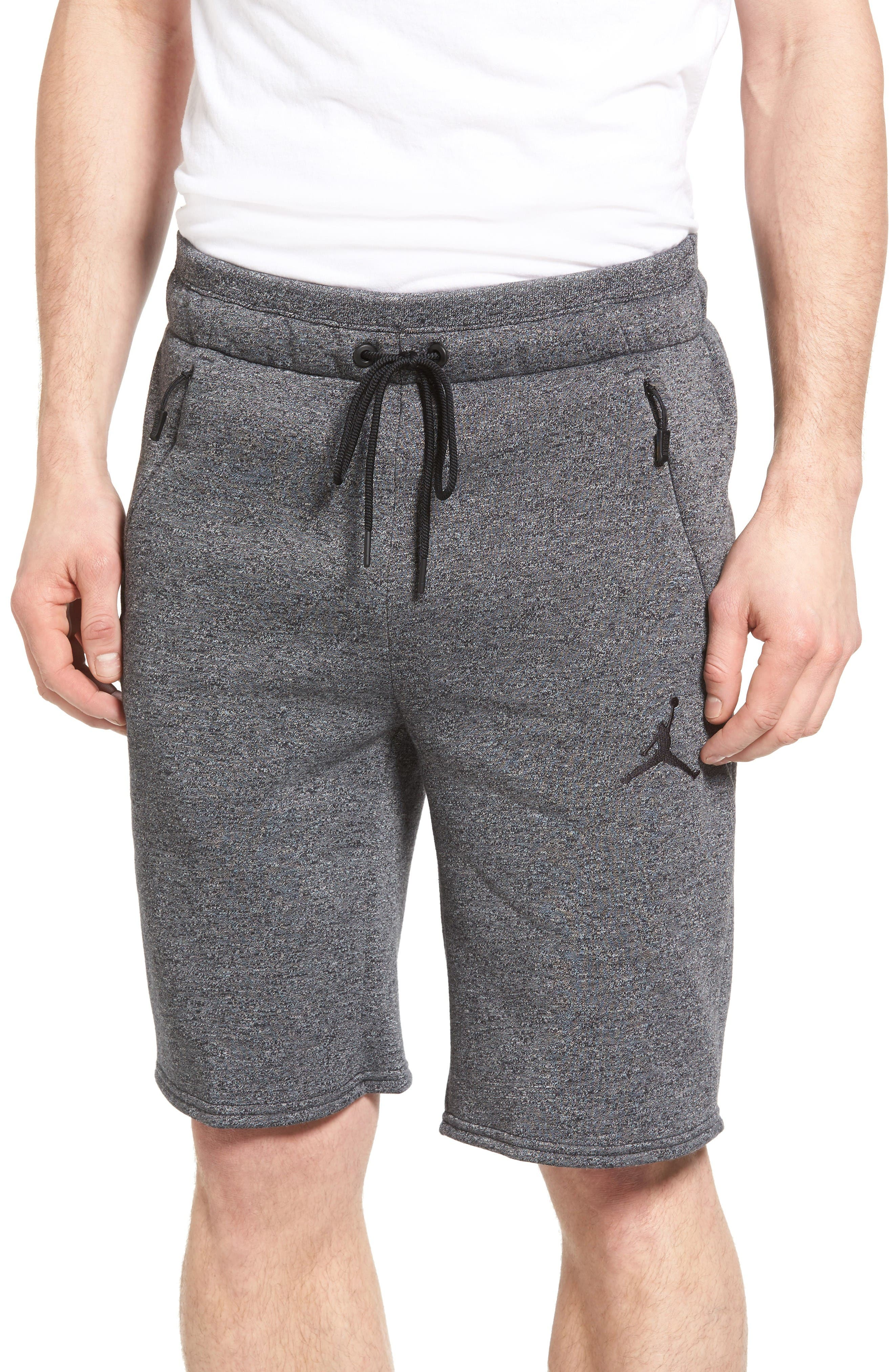 Alternate Image 1 Selected - Nike Jordan Icon Fleece Shorts
