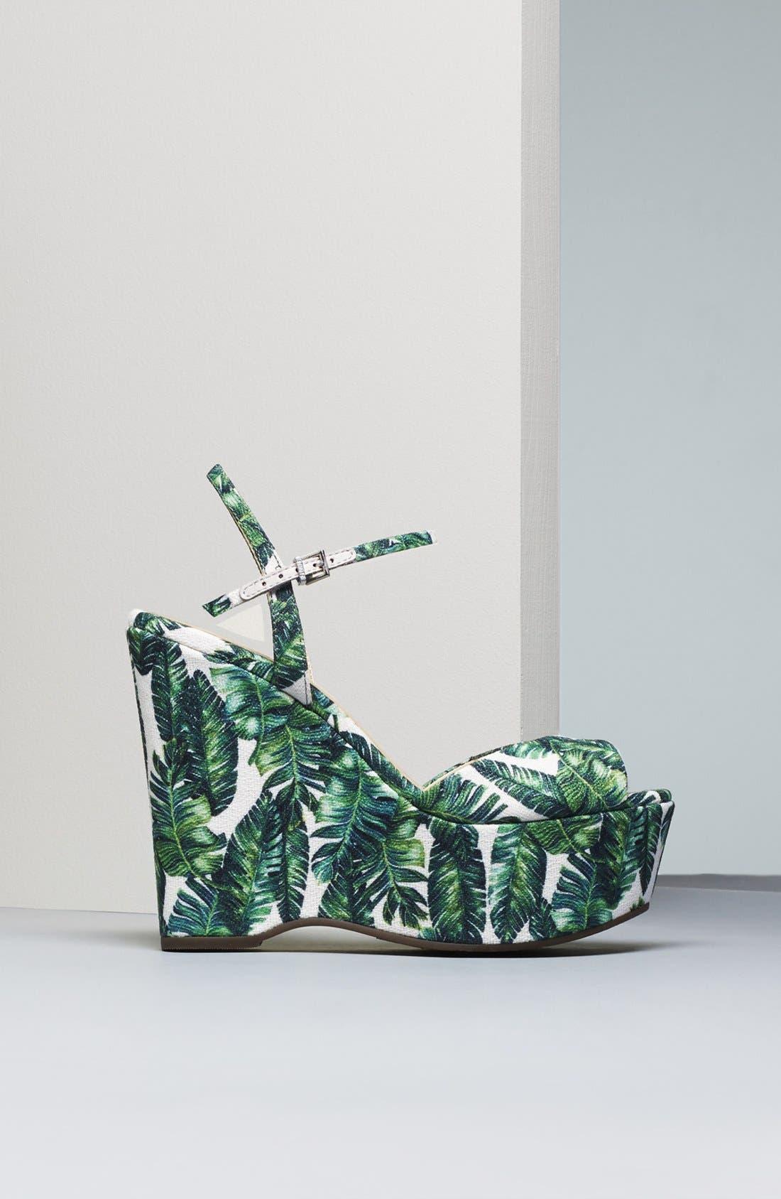 Alternate Image 7  - Schutz Patrycia Wedge Sandal (Women)