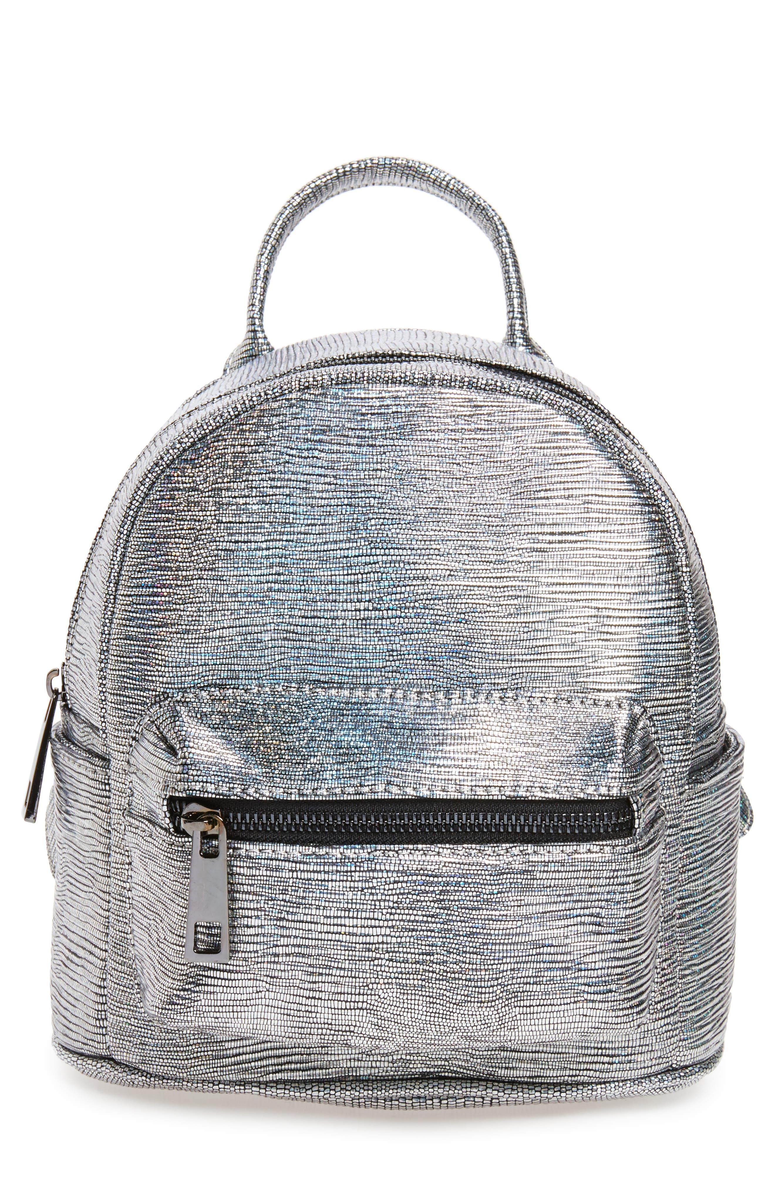 Alternate Image 1 Selected - Street Level Faux Leather Backpack