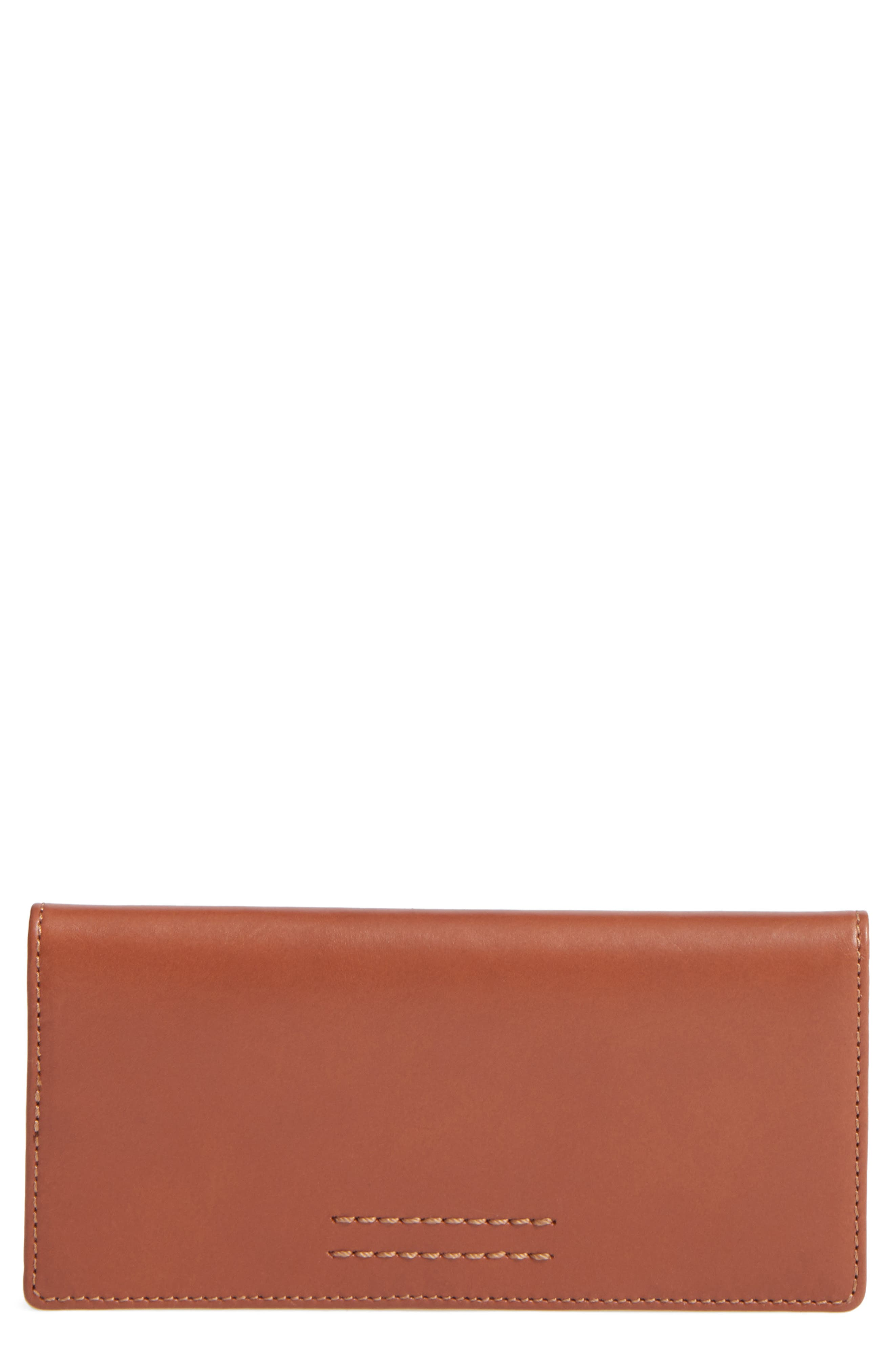 Alternate Image 1 Selected - Frye Harness Leather Continental Wallet