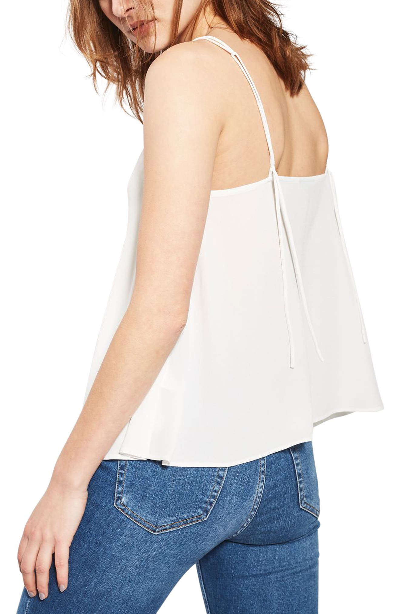 Alternate Image 3  - Topshop Rouleau Swing Camisole (Regular & Petite)