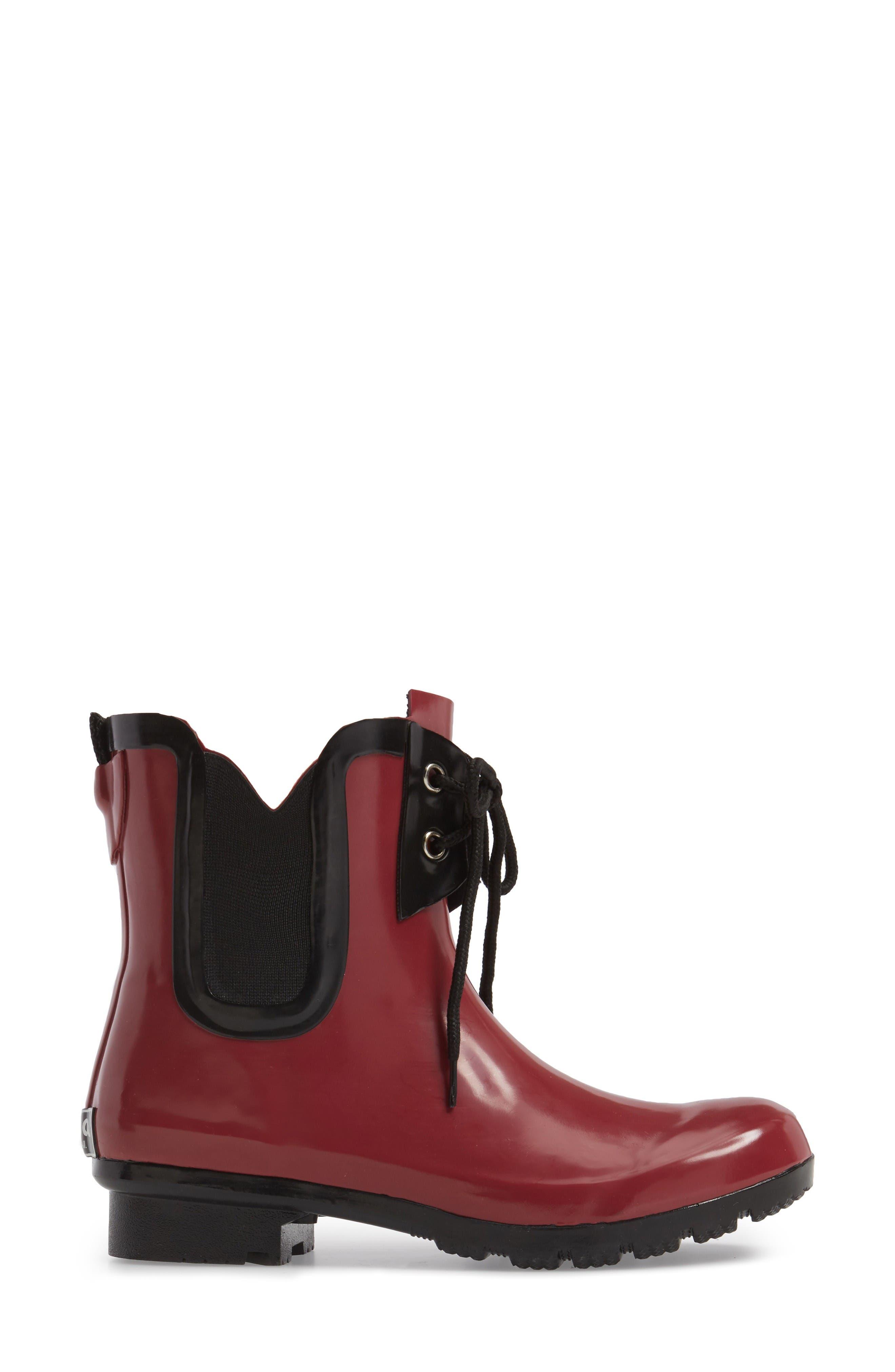 Alternate Image 3  - roma Waterproof Chelsea Rain Boot (Women)