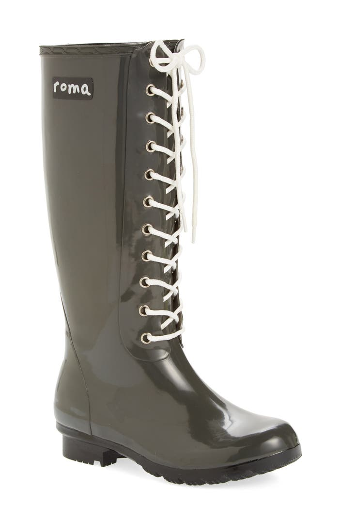 Roma Opinca Waterproof Rain Boot Women Nordstrom