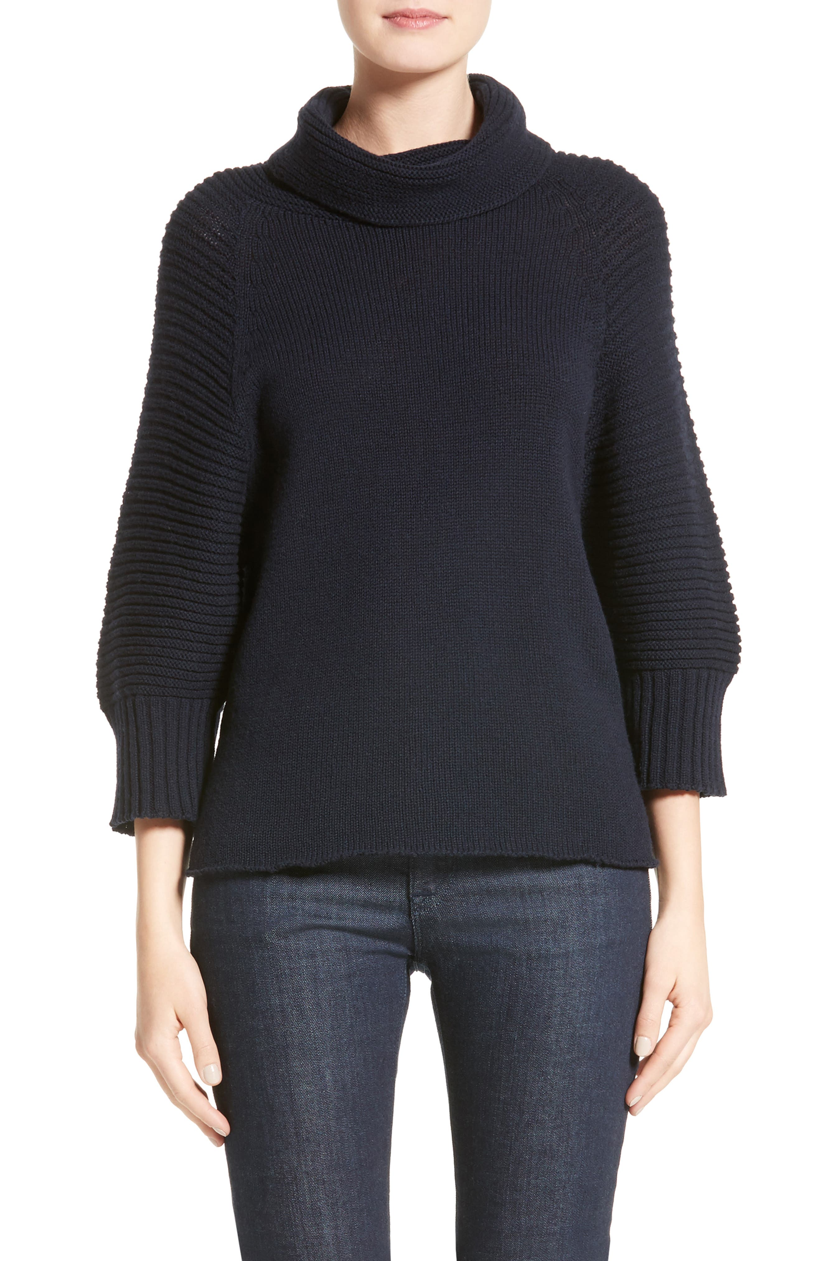 Armani Collezioni Interlock Wool & Cashmere Sweater