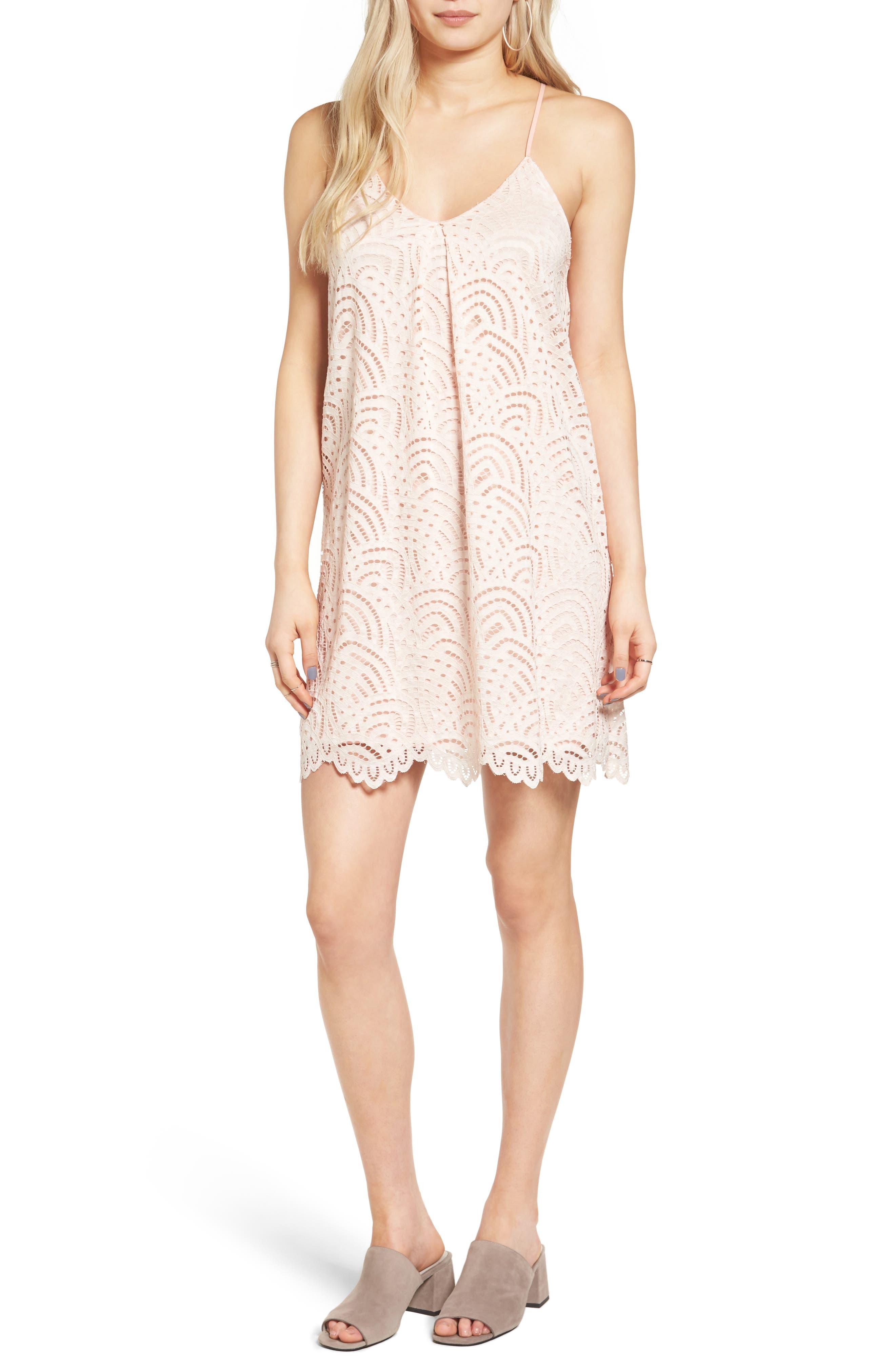 Everly Lace Shift Dress