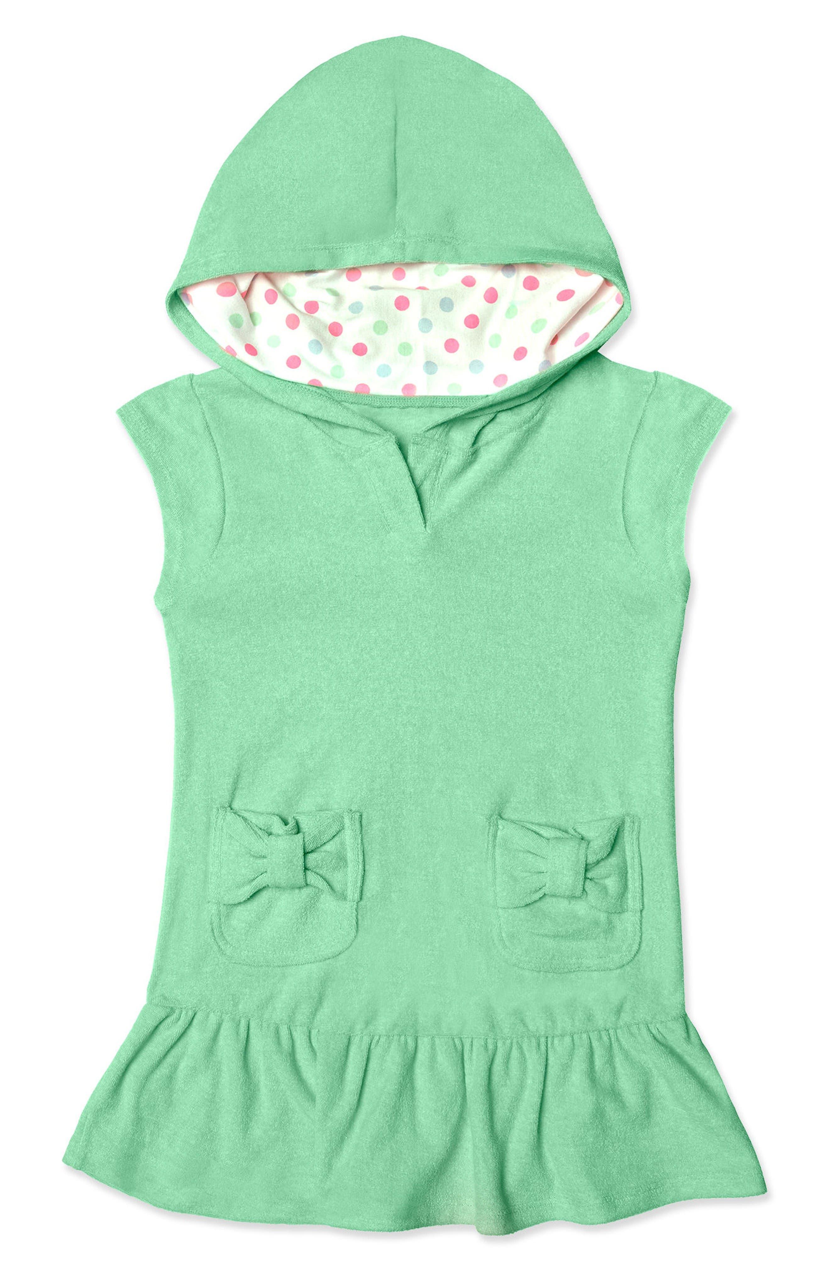 Hula Star Cloud Hooded Cover-Up Dress (Toddler Girls & Little Girls)