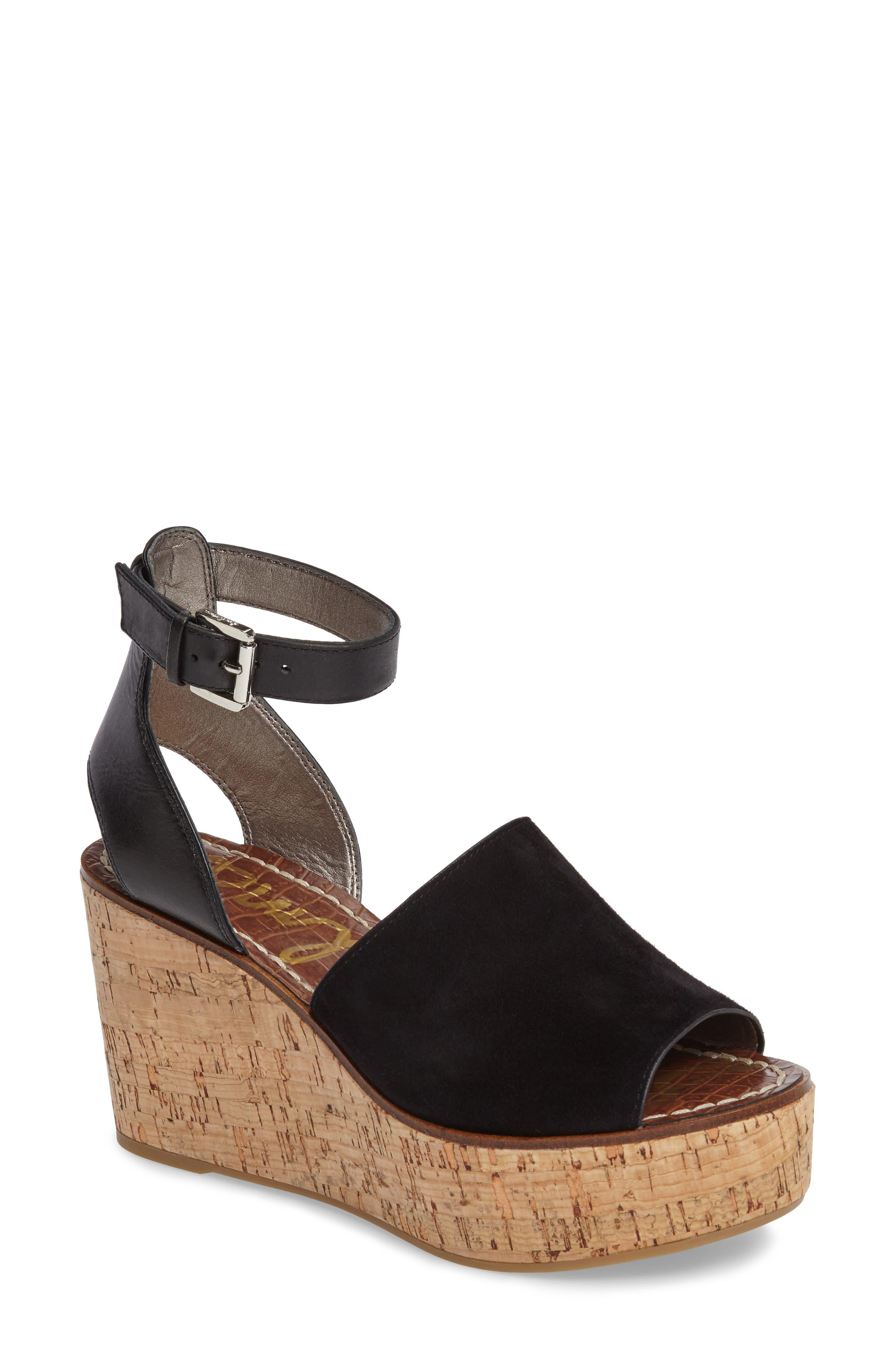 Sam Edelman Devin Platform Wedge Sandal (Women)