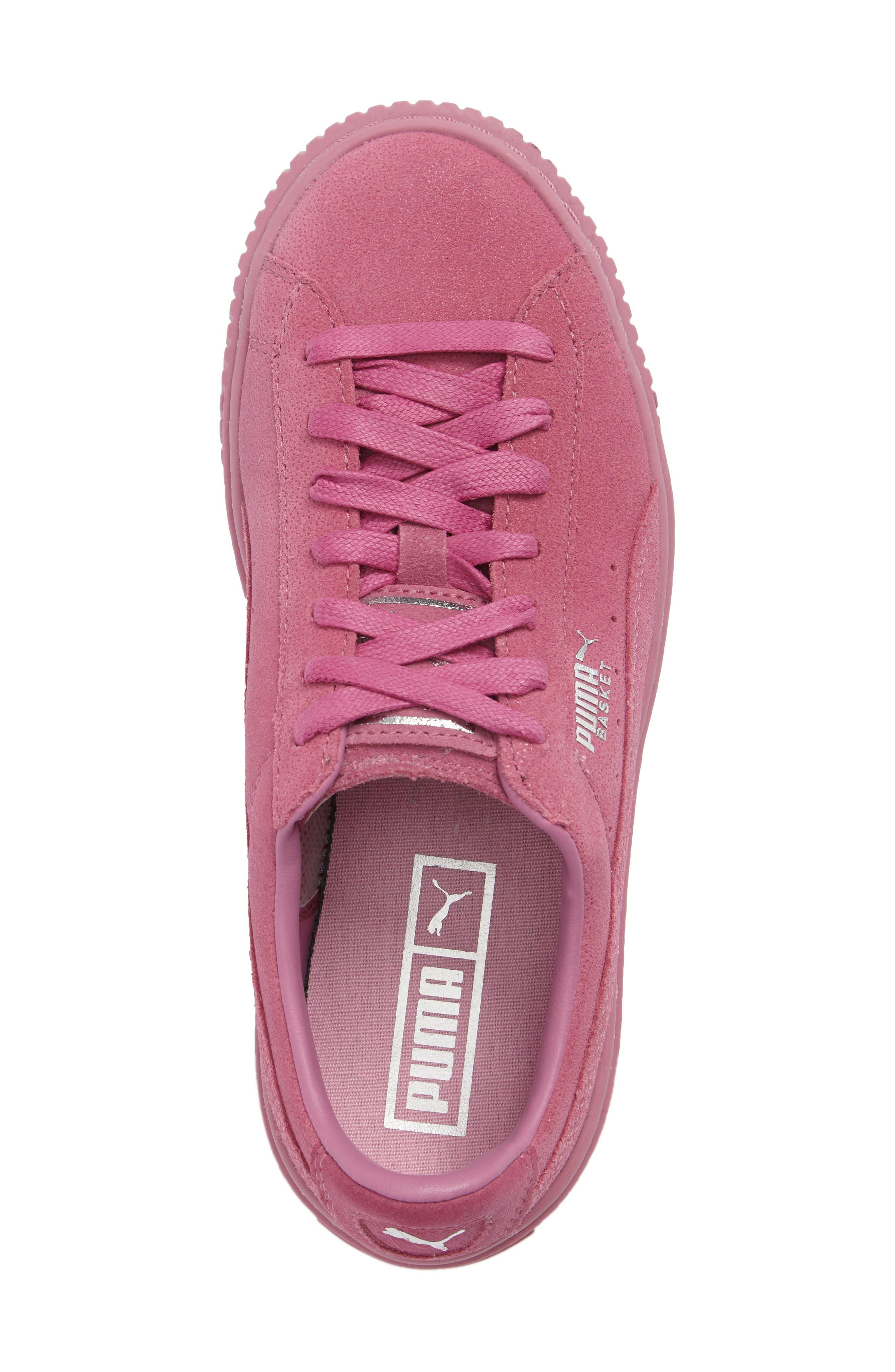 Alternate Image 4  - PUMA Reset Platform Sneaker (Women)