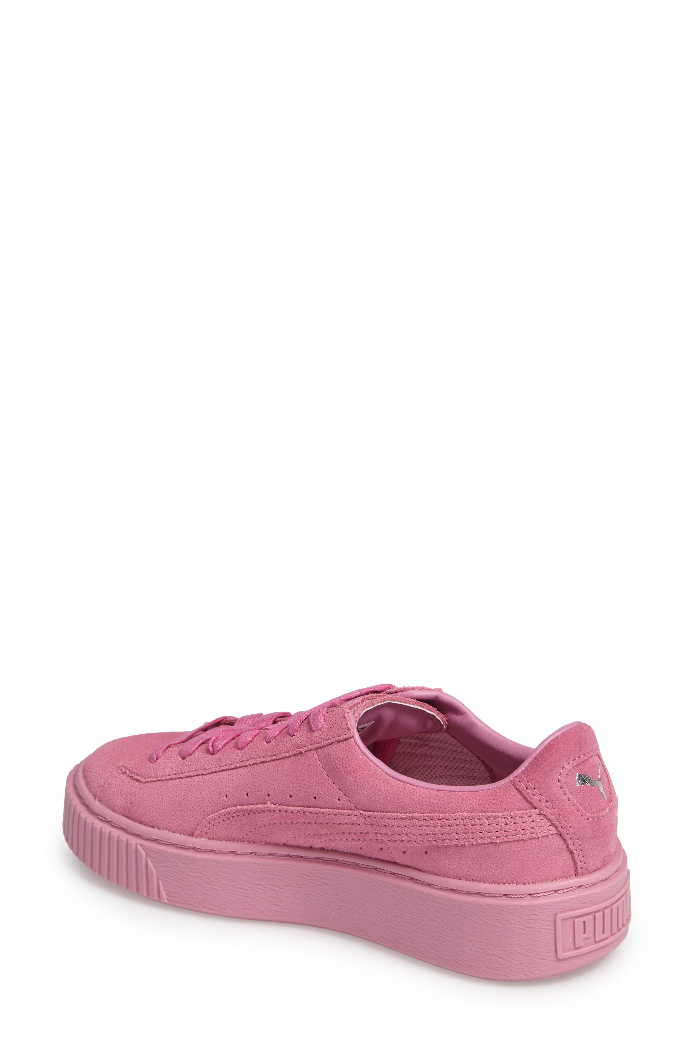 Alternate Image 2  - PUMA Reset Platform Sneaker (Women)