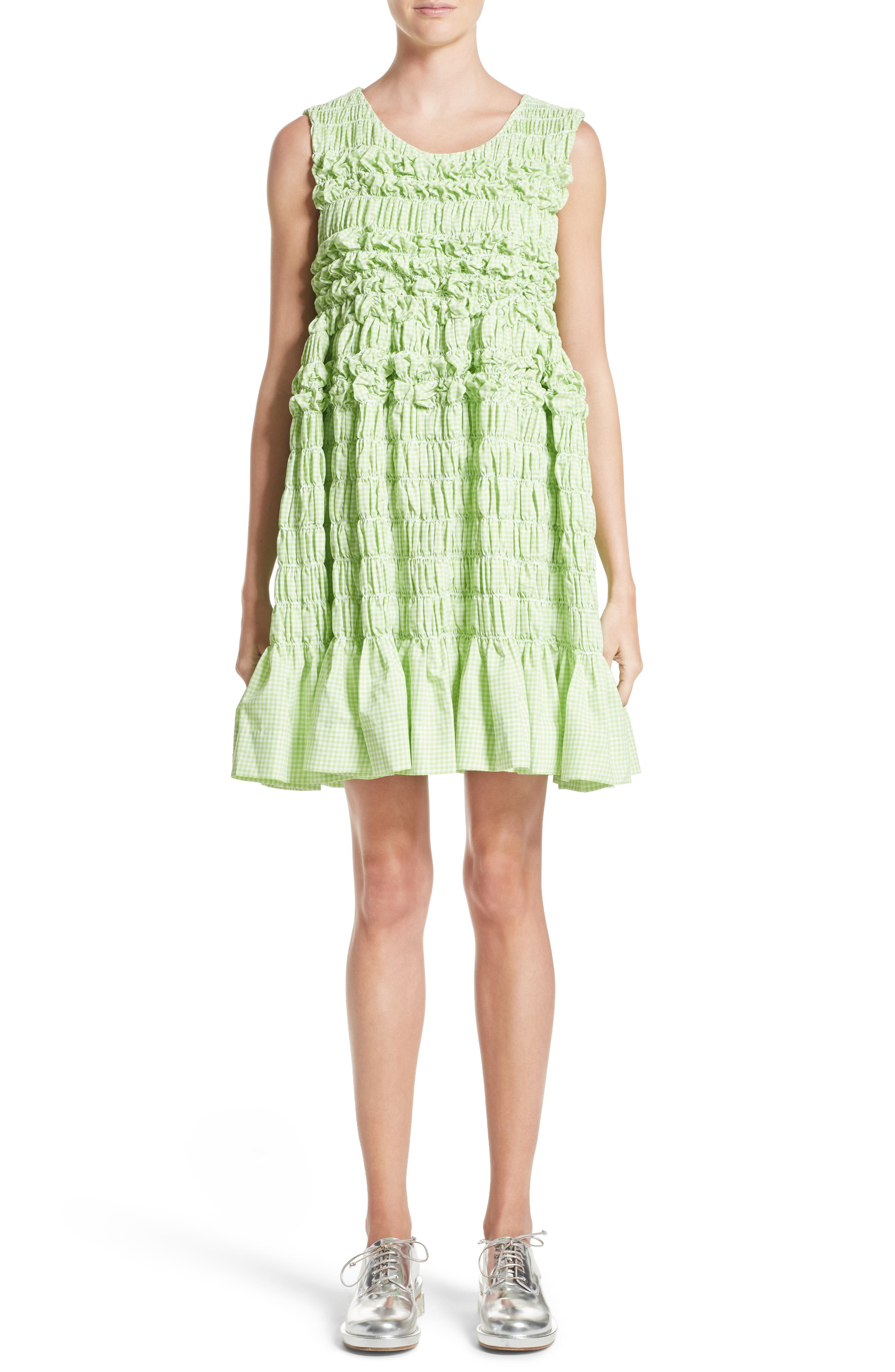 Alternate Image 1 Selected - Molly Goddard Olga Mini Dress