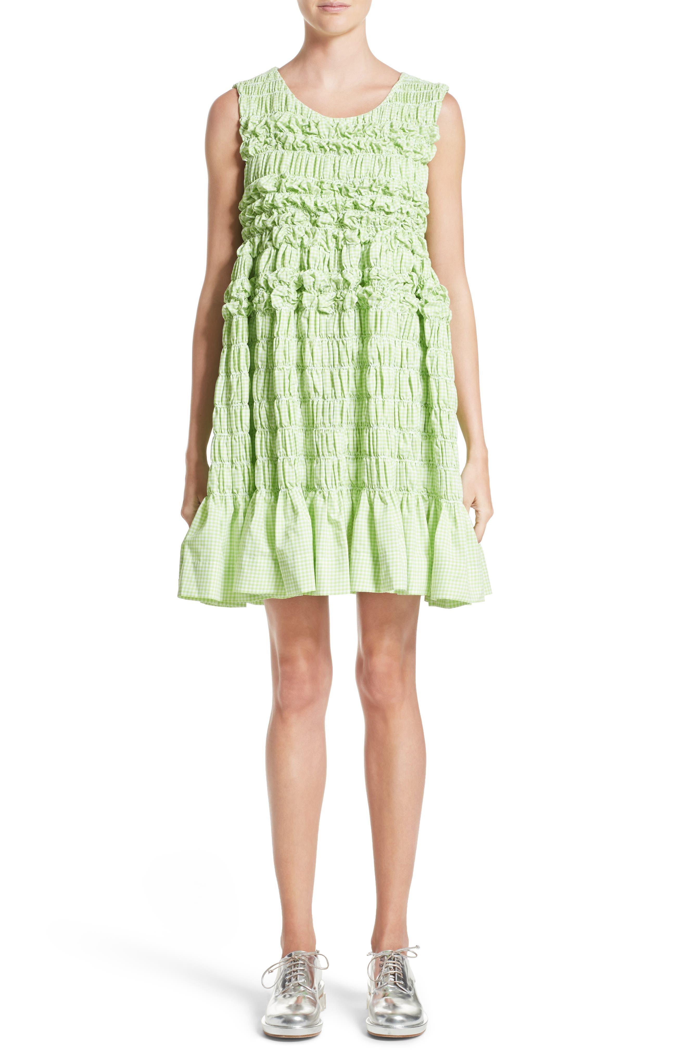 Main Image - Molly Goddard Olga Mini Dress