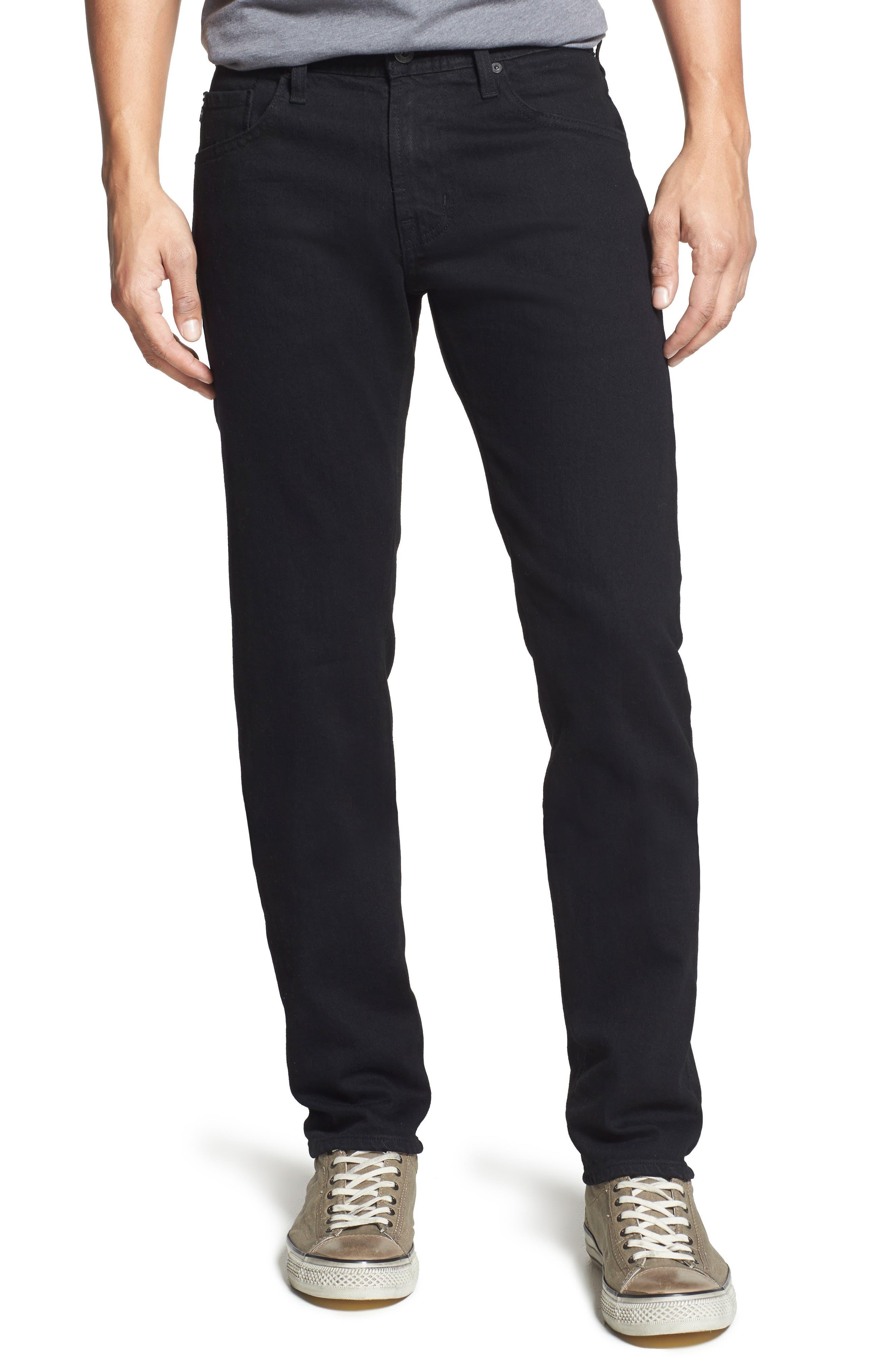 AG Tellis Slim Fit Jeans (Blackbird)