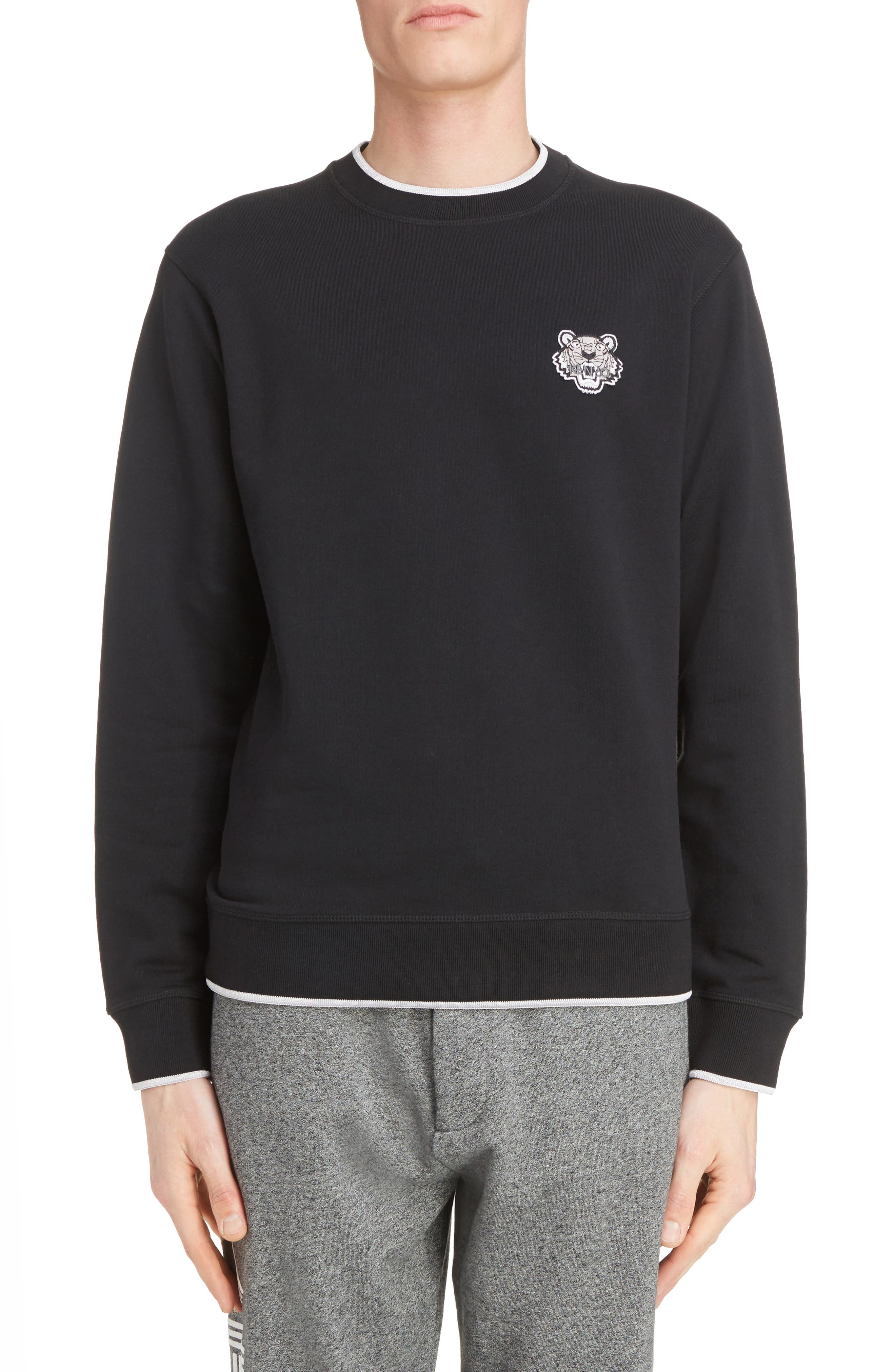 KENZO Wool Patch Pullover