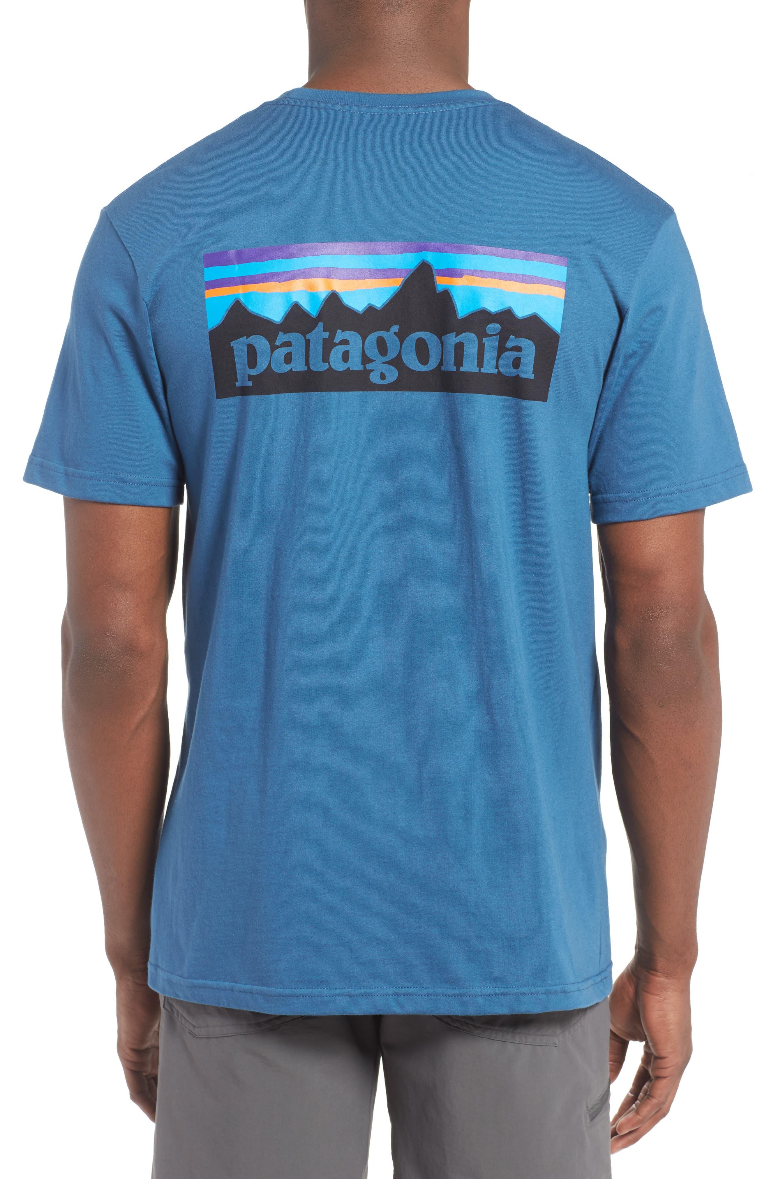 Patagonia 'P-6 Logo' Organic Cotton T-Shirt