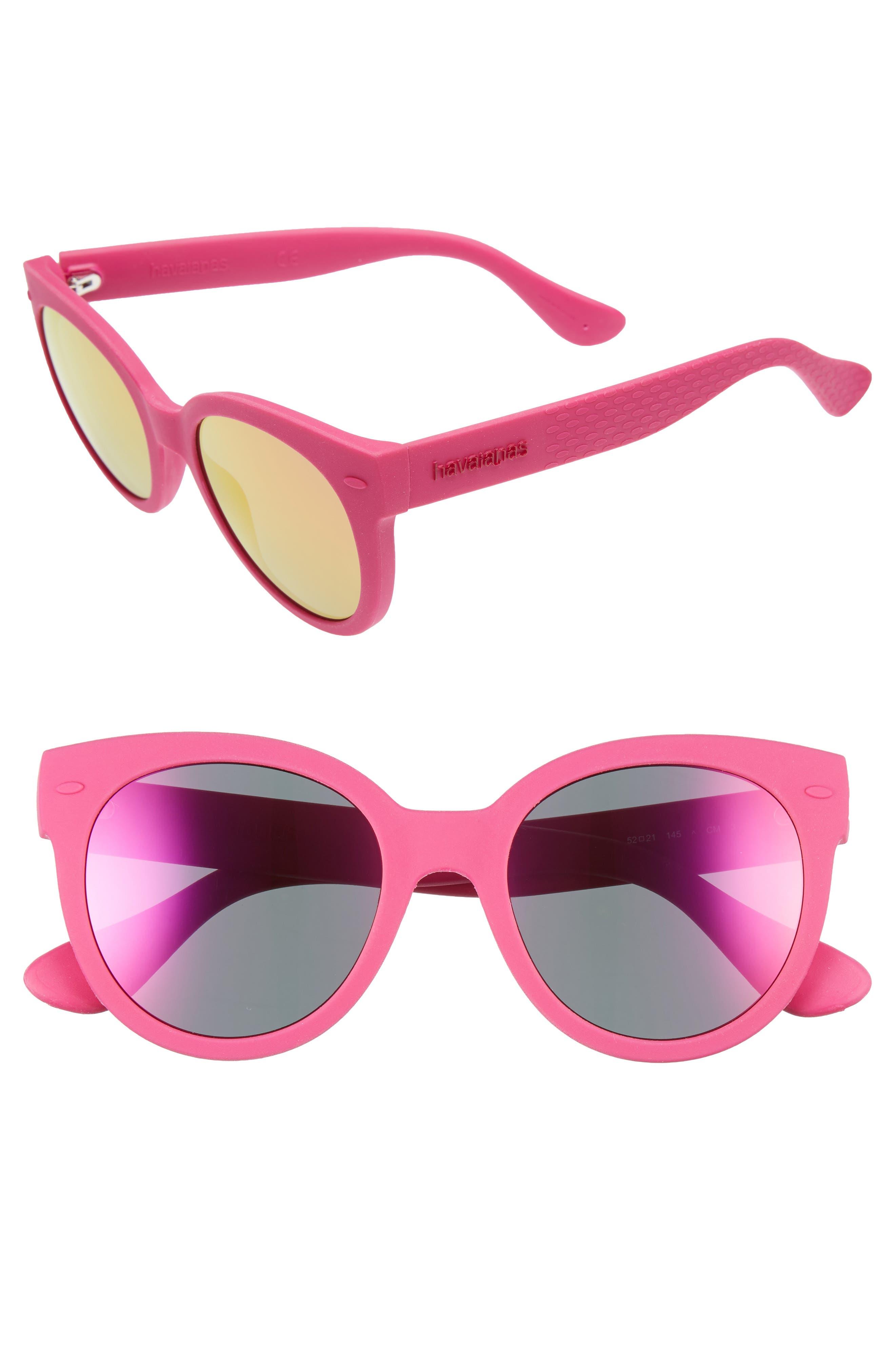 Havaianas 52mm Cat-Eye Sunglasses