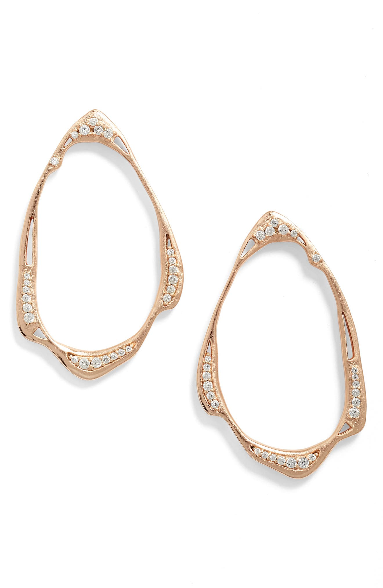 Kendra Scott Livi Frontal Hoop Earrings
