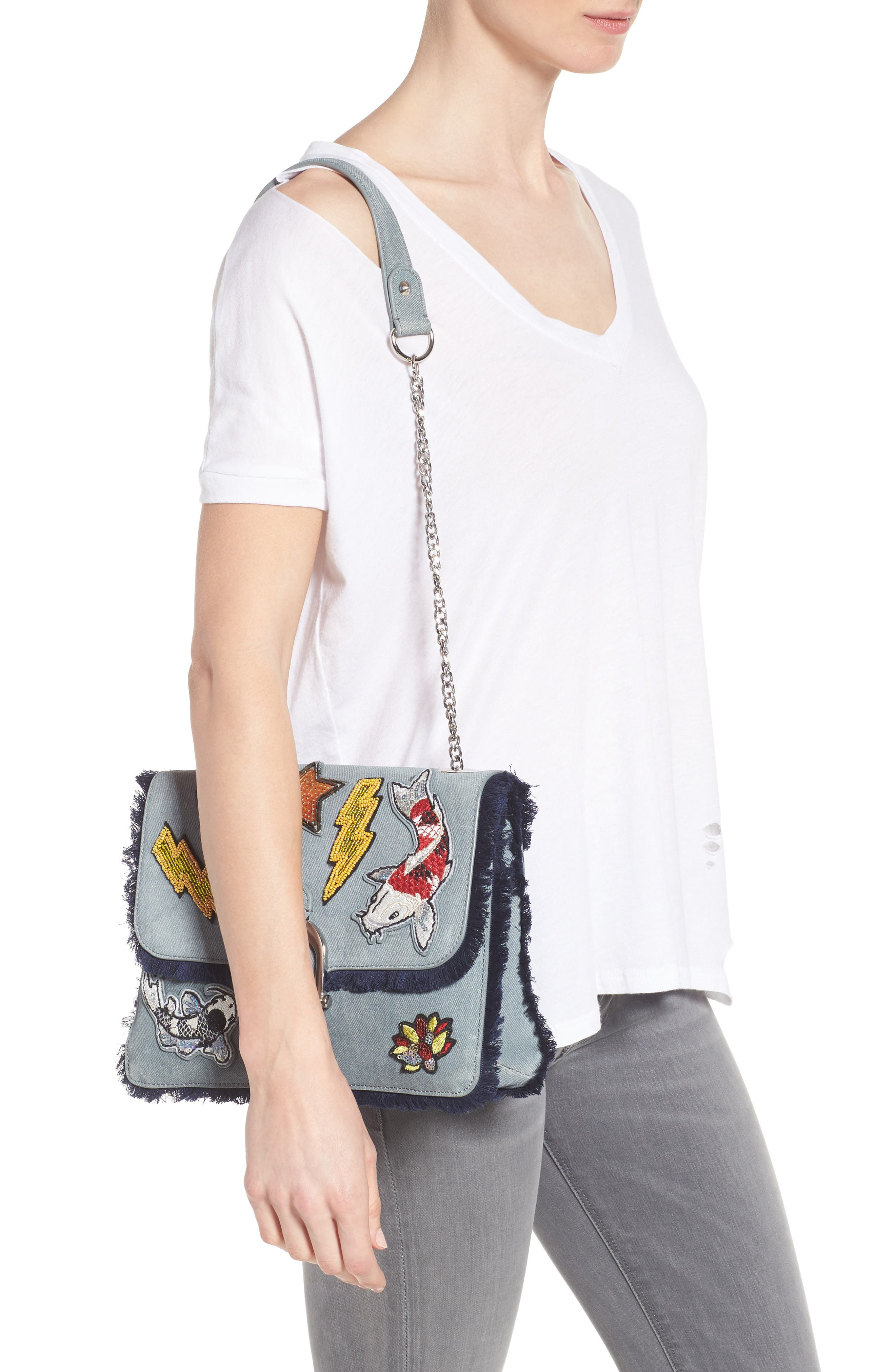 Alternate Image 2  - Sam Edelman Asher Shoulder Bag