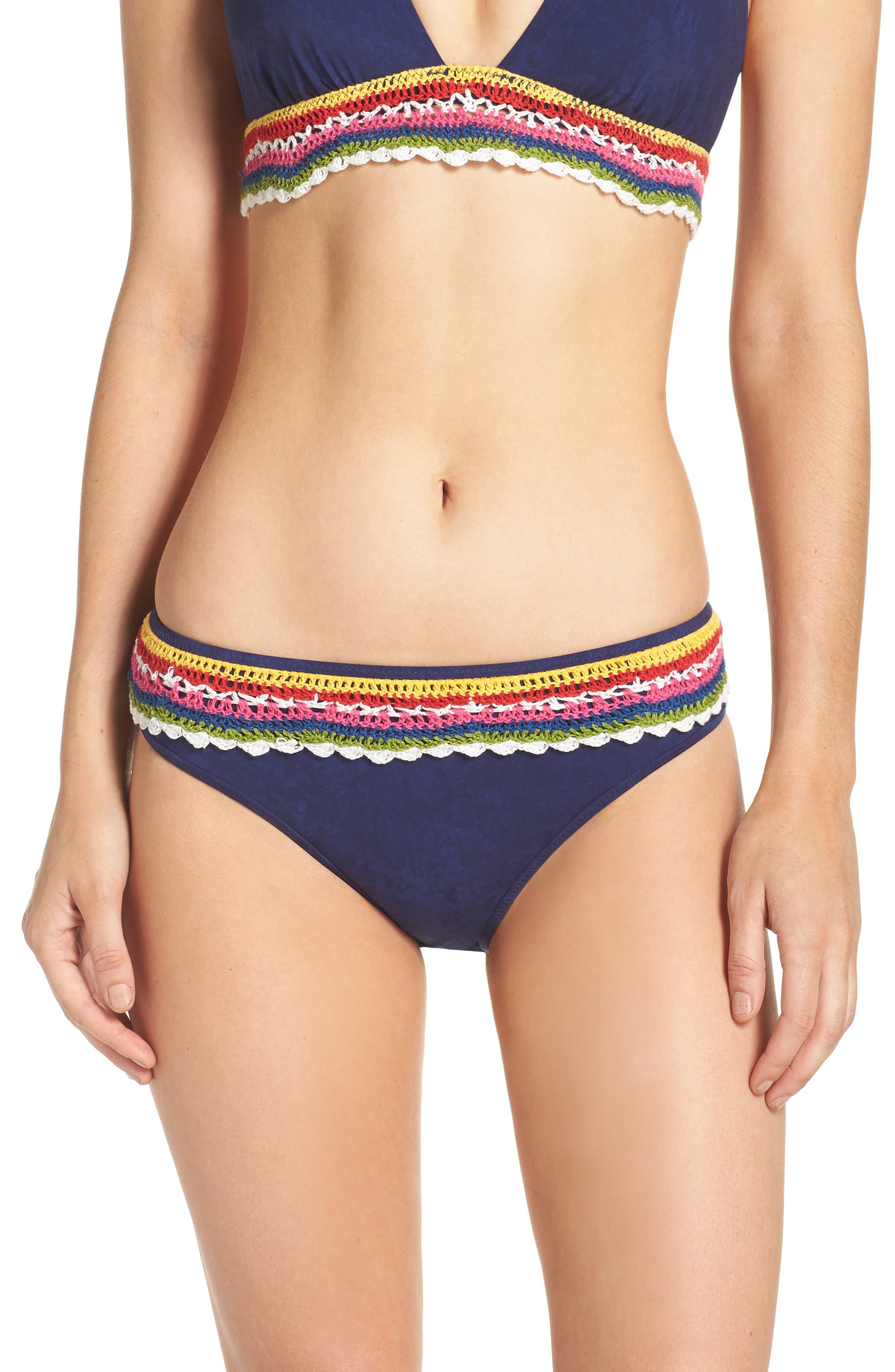 Nanette Lepore Peace Love Charmer Bikini Bottoms
