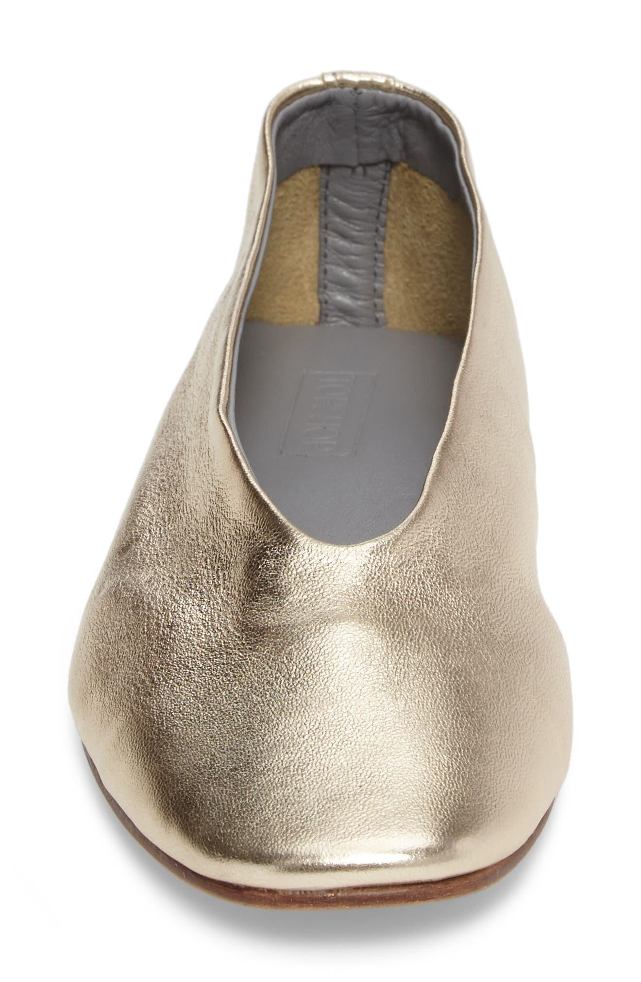 Alternate Image 4  - Topshop Kick Ballet Flat (Women)