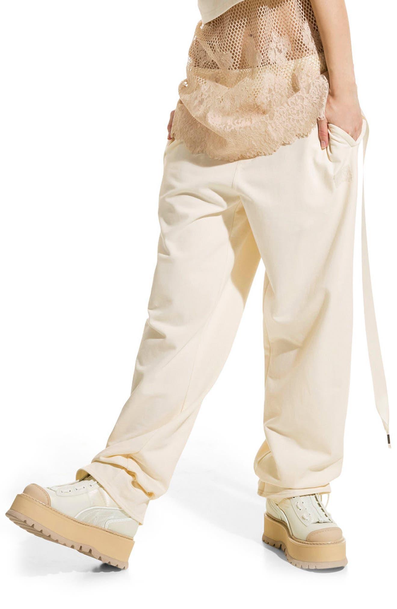 Alternate Image 1 Selected - FENTY PUMA by Rihanna Gathered Ankle Sweatpants