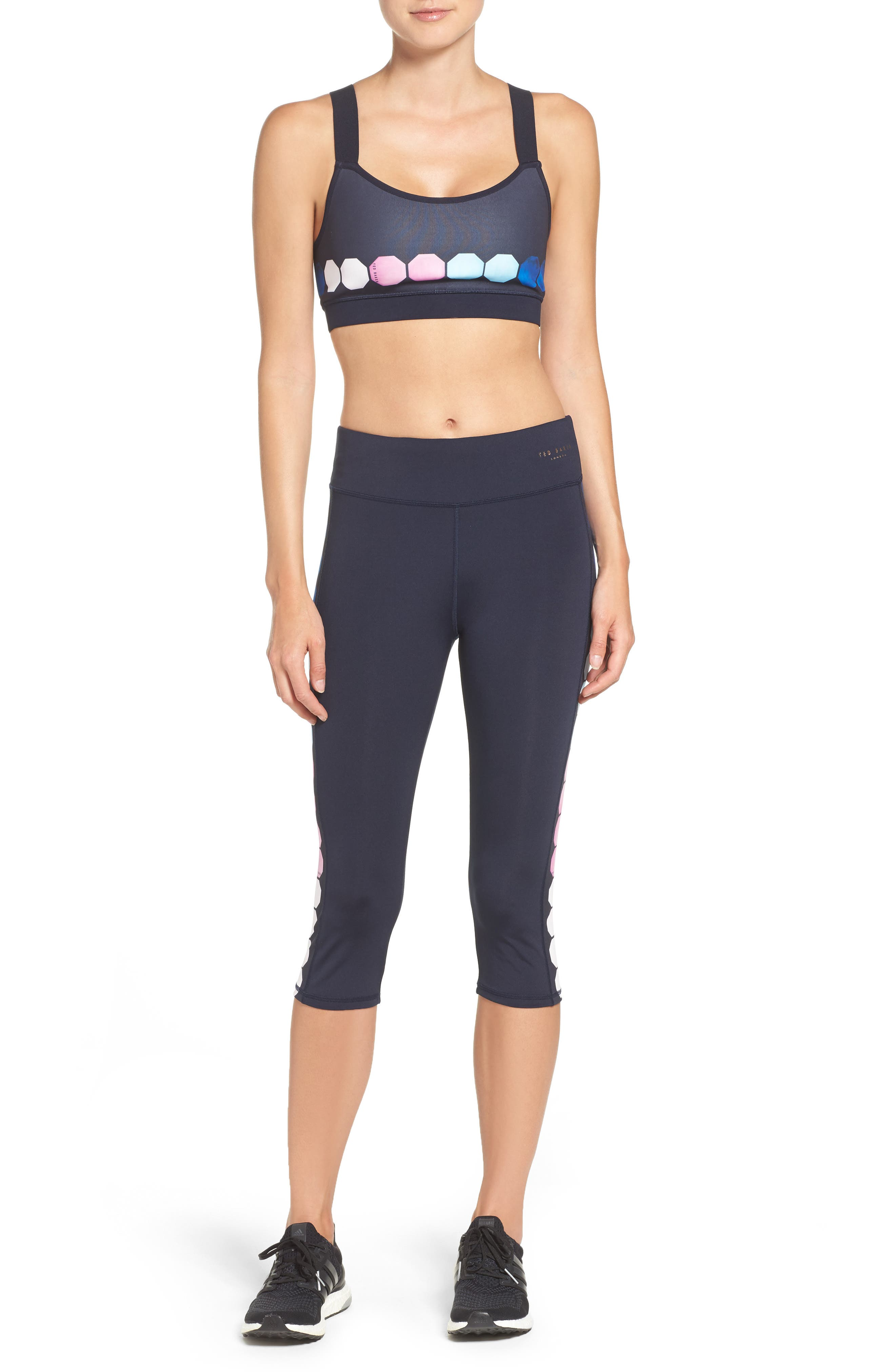 Ted Baker London Sports Bra & Capris Outfit