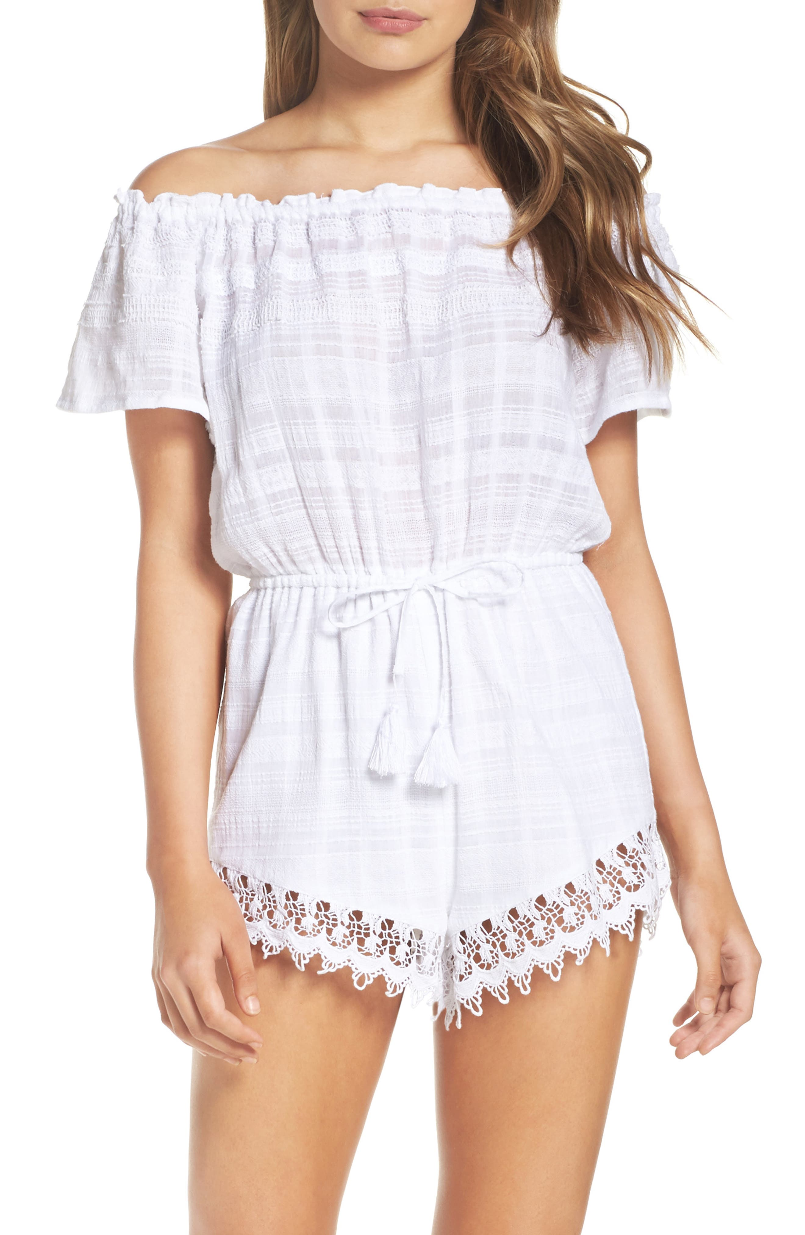 BB Dakota Yana Off the Shoulder Romper