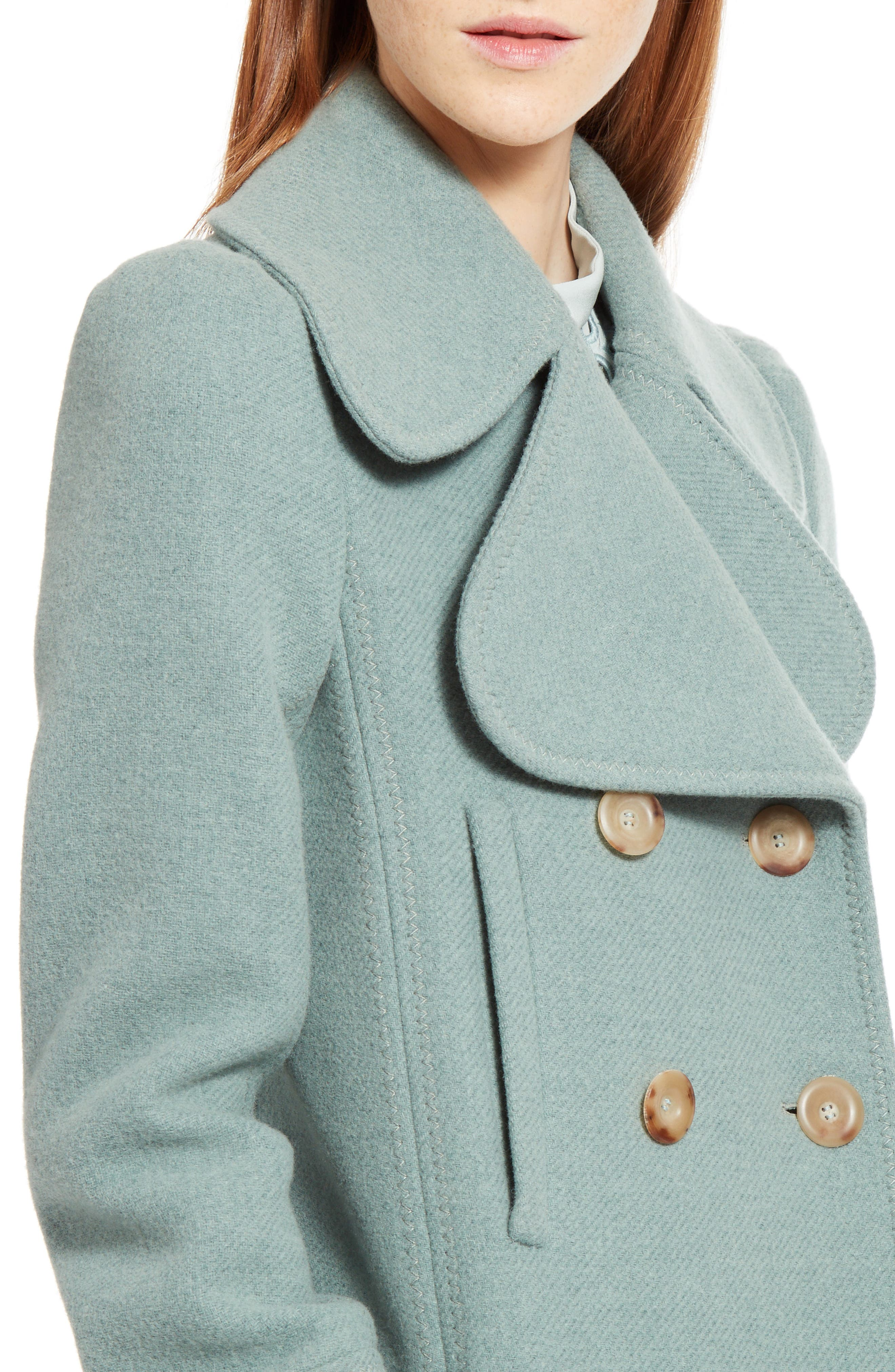 Alternate Image 5  - Chloé Iconic Wool Blend Coat
