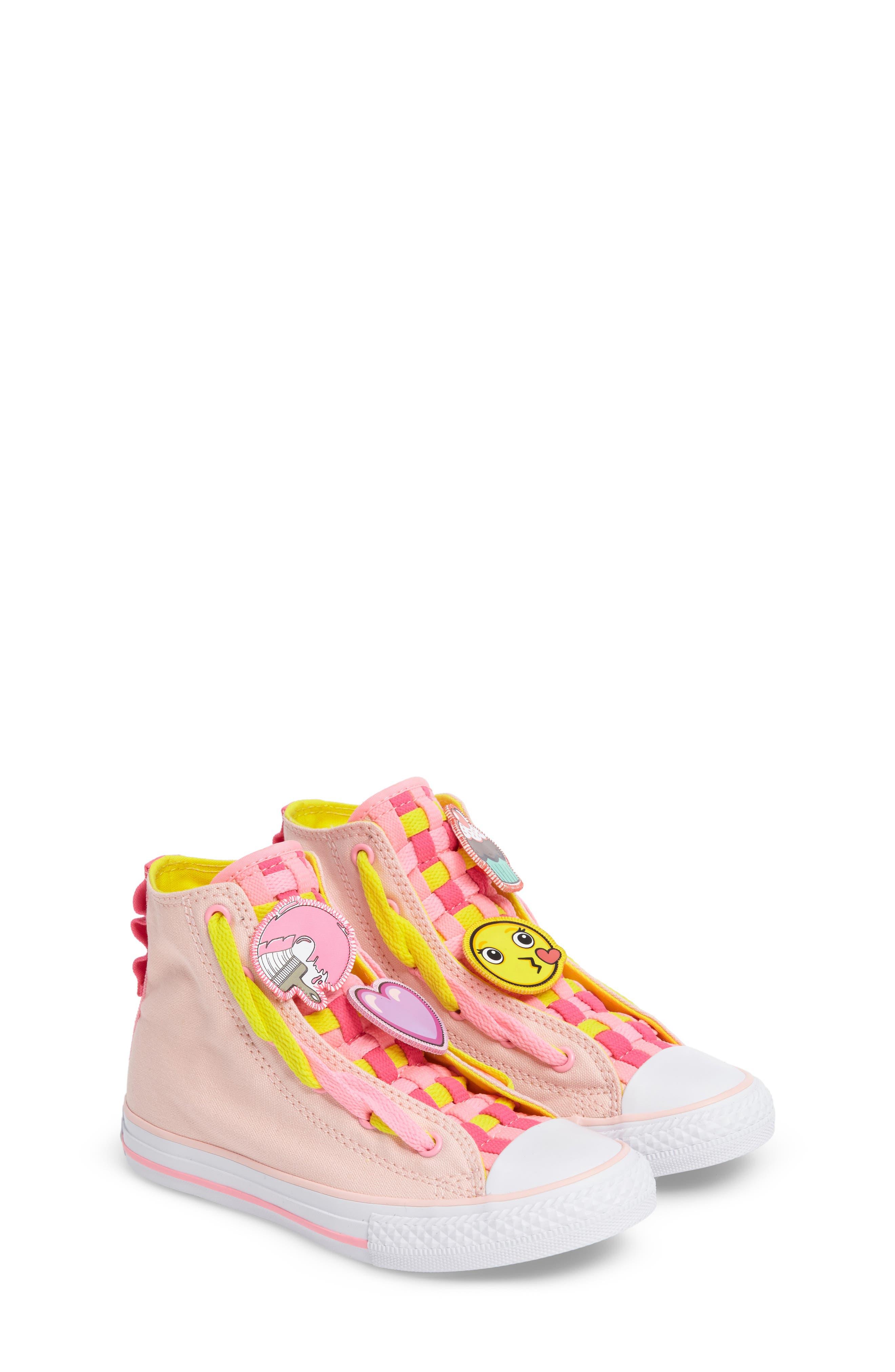 Converse Chuck Taylor® All Star® Loopholes Emoji Sneaker (Toddler, Little Kid & Big Kid)